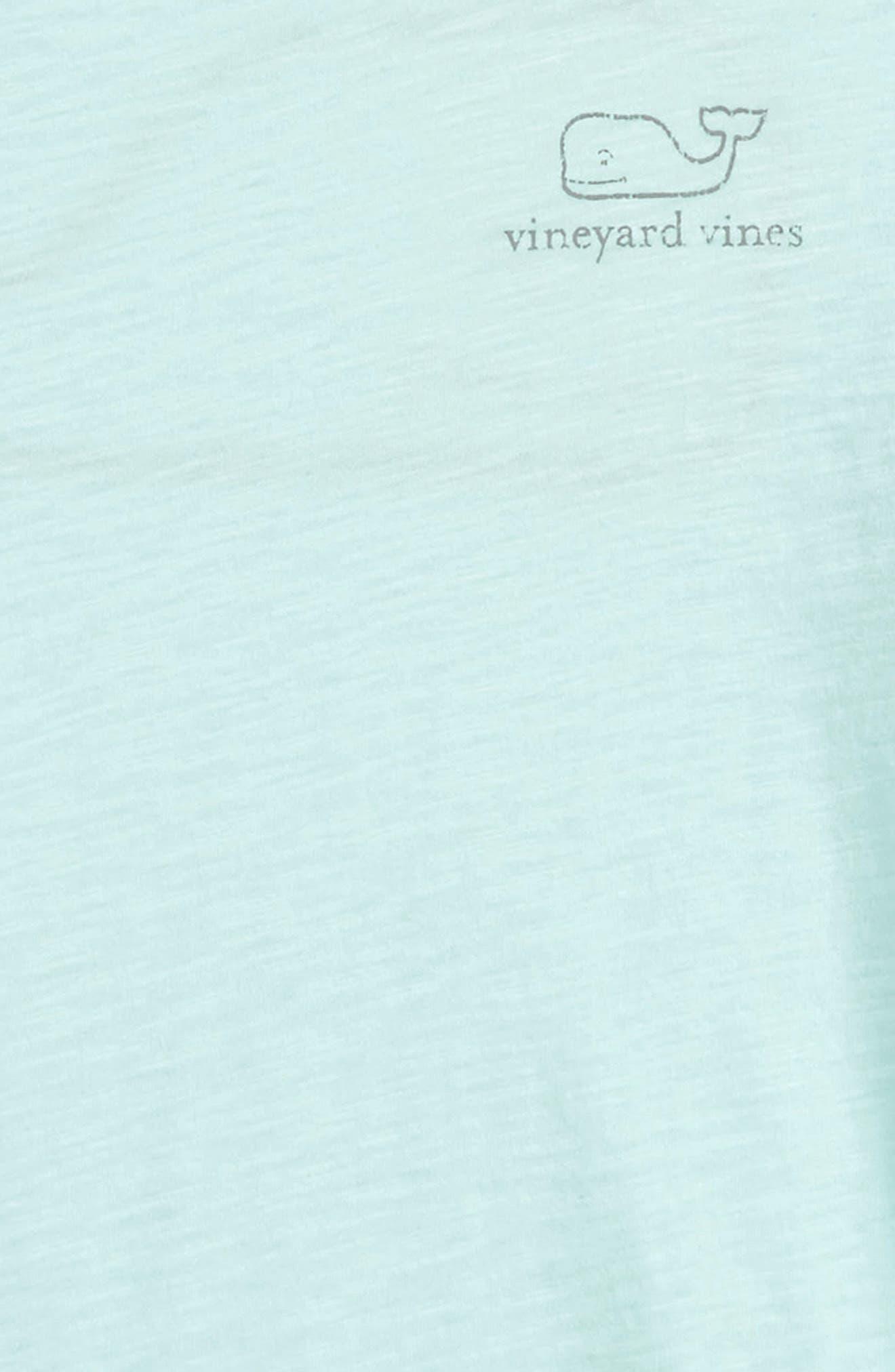 Slub Vintage Whale Tee,                             Alternate thumbnail 2, color,                             Crystal Blue