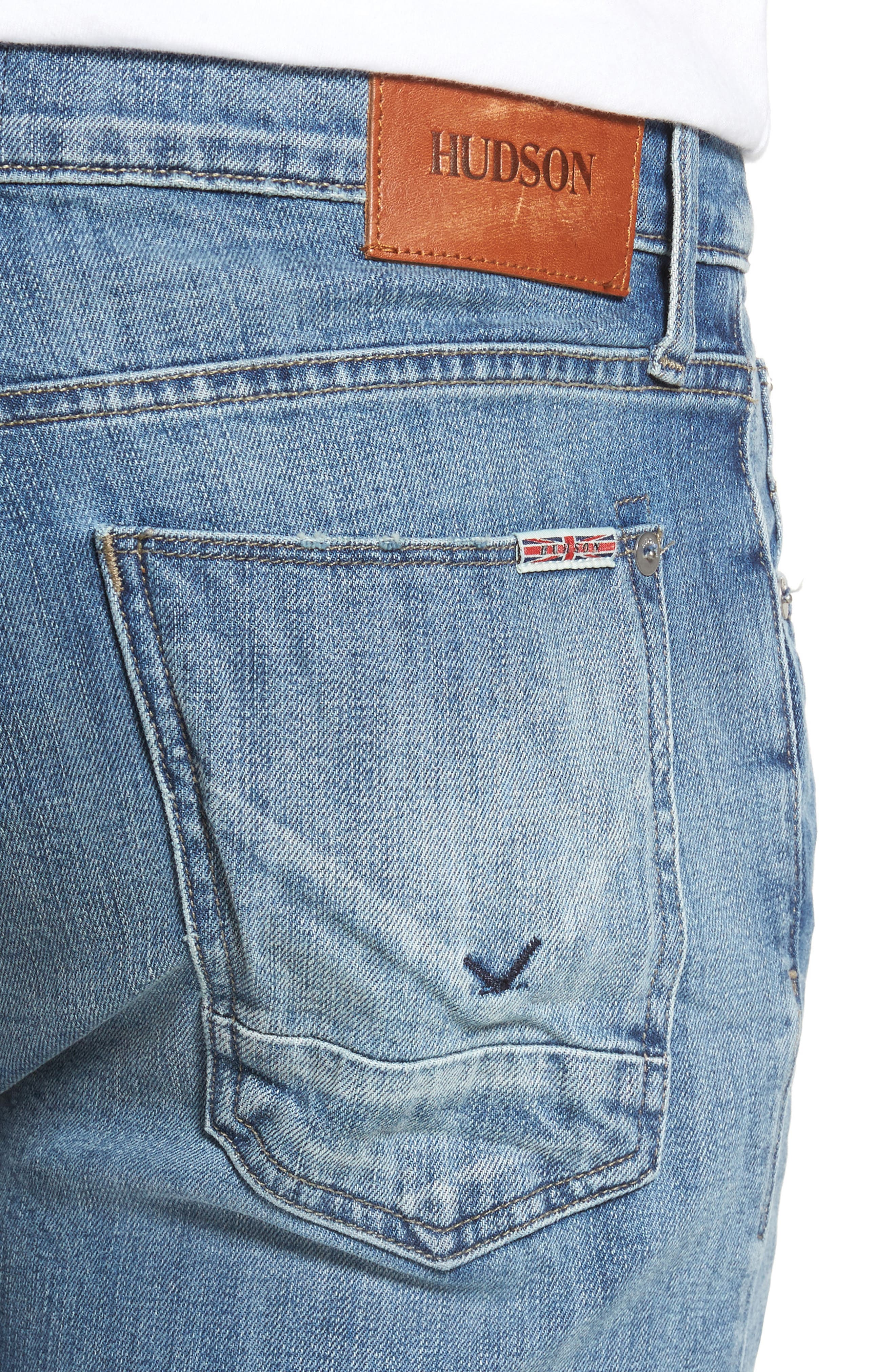 Axl Skinny Fit Jeans,                             Alternate thumbnail 4, color,                             Racking