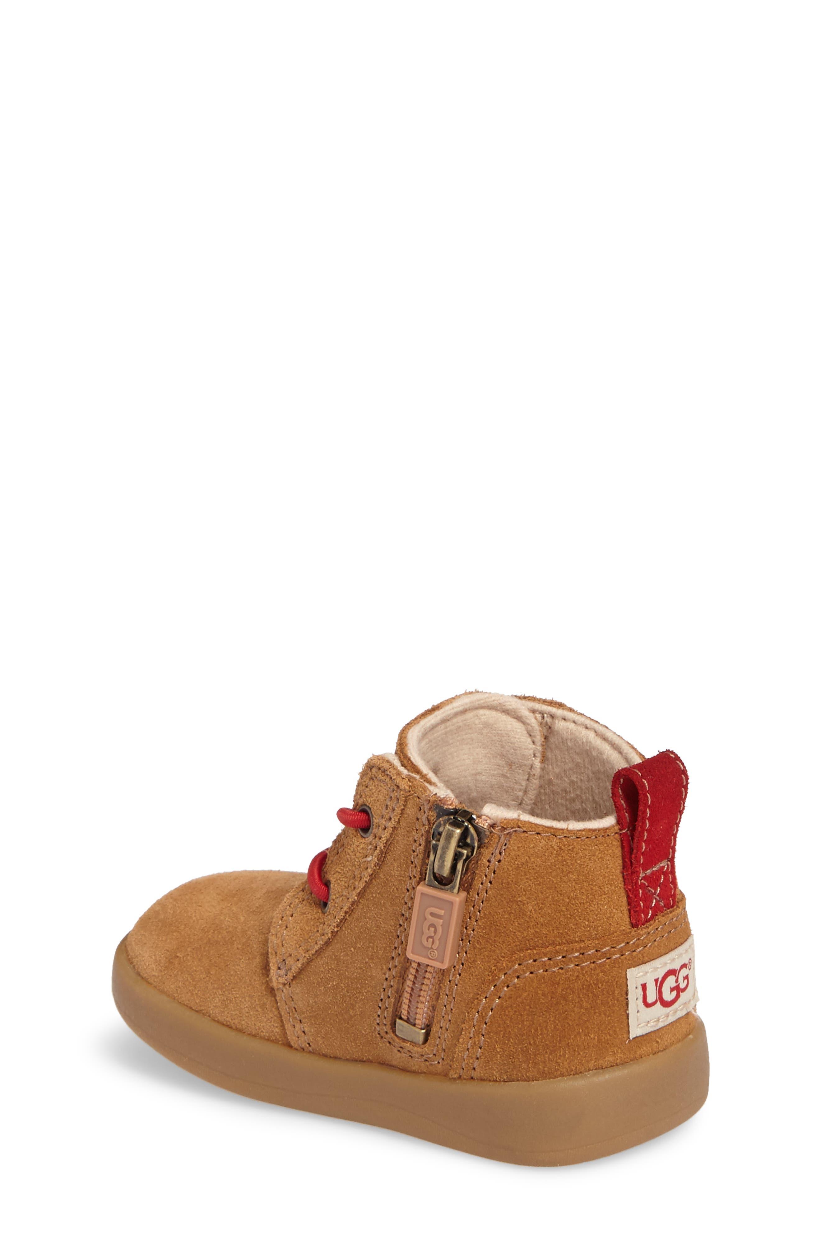 Alternate Image 2  - UGG® Kristjan Chukka Bootie Sneaker (Baby & Walker)