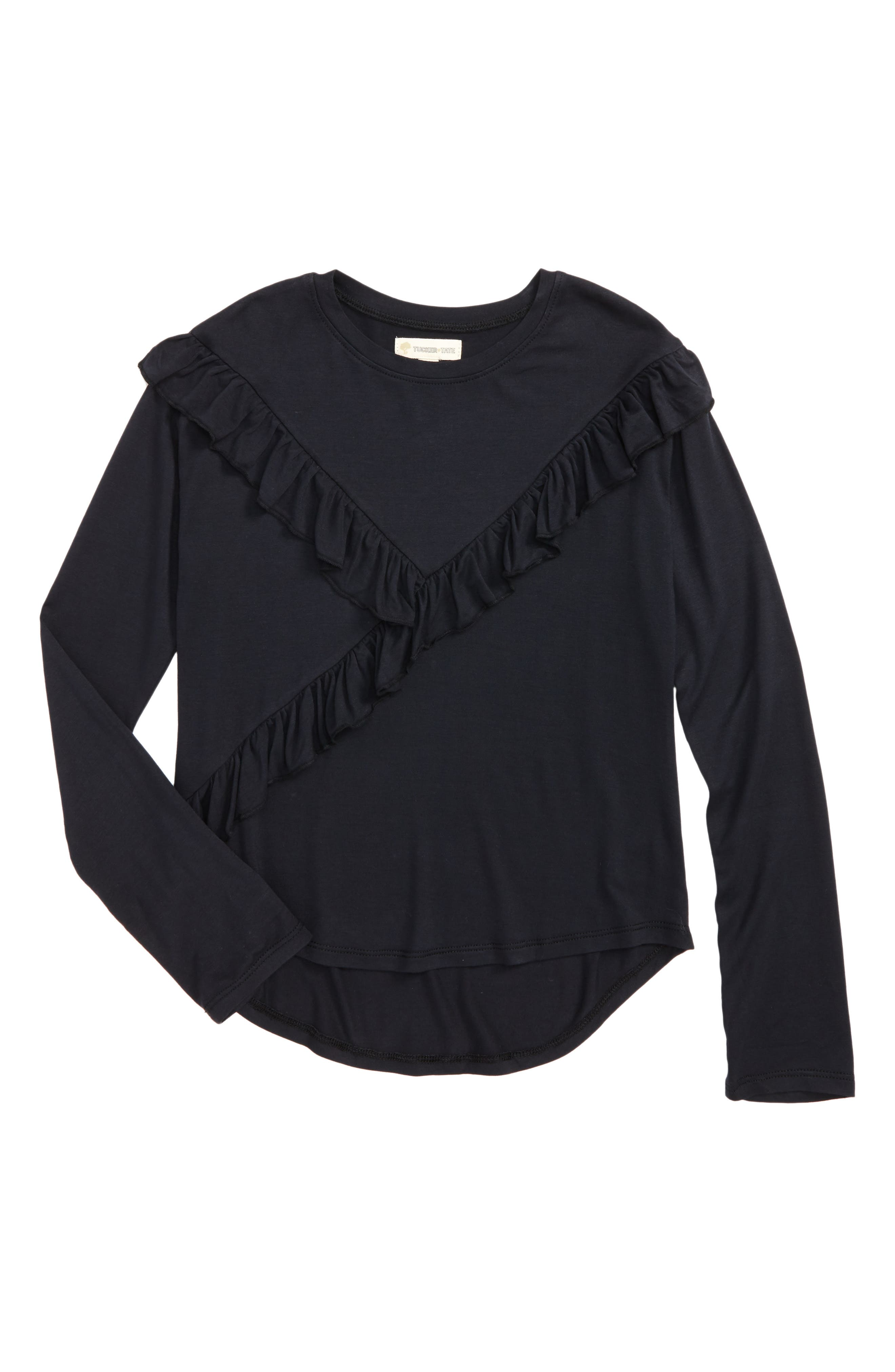 Tucker + Tate Ruffle Tee (Big Girls)