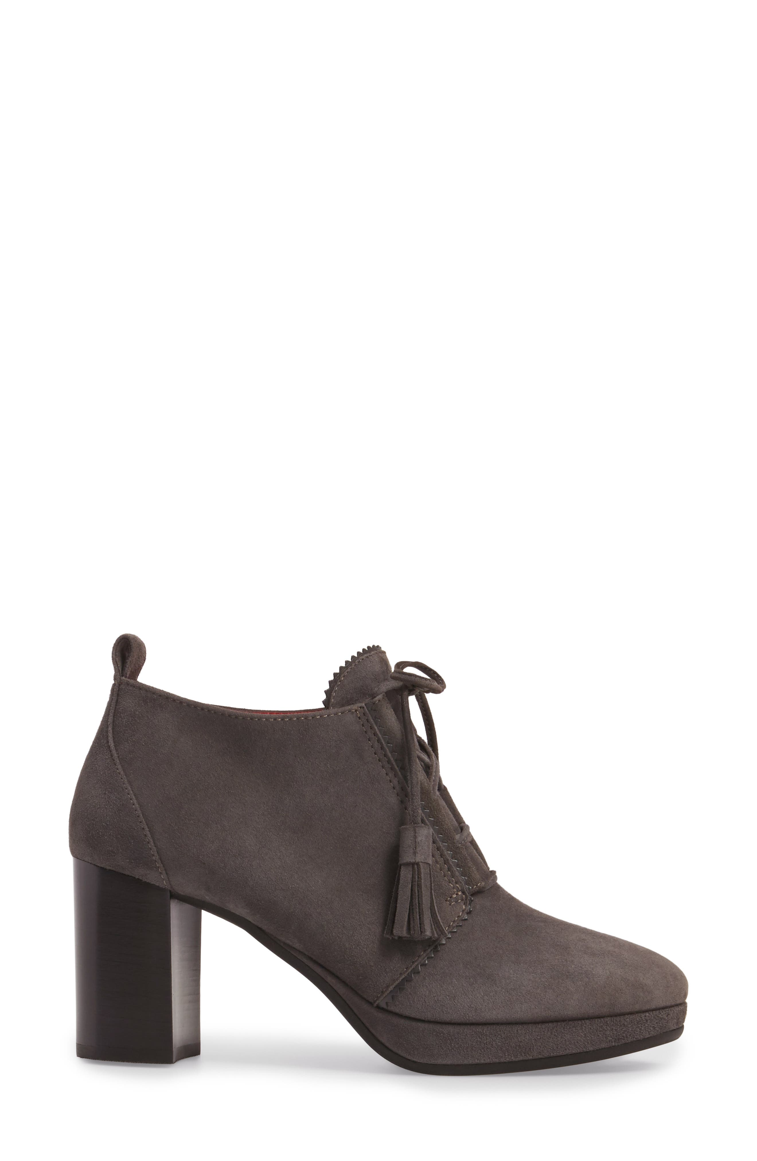 Alternate Image 3  - Pas de Rouge Lace-Up Platform Bootie (Women)