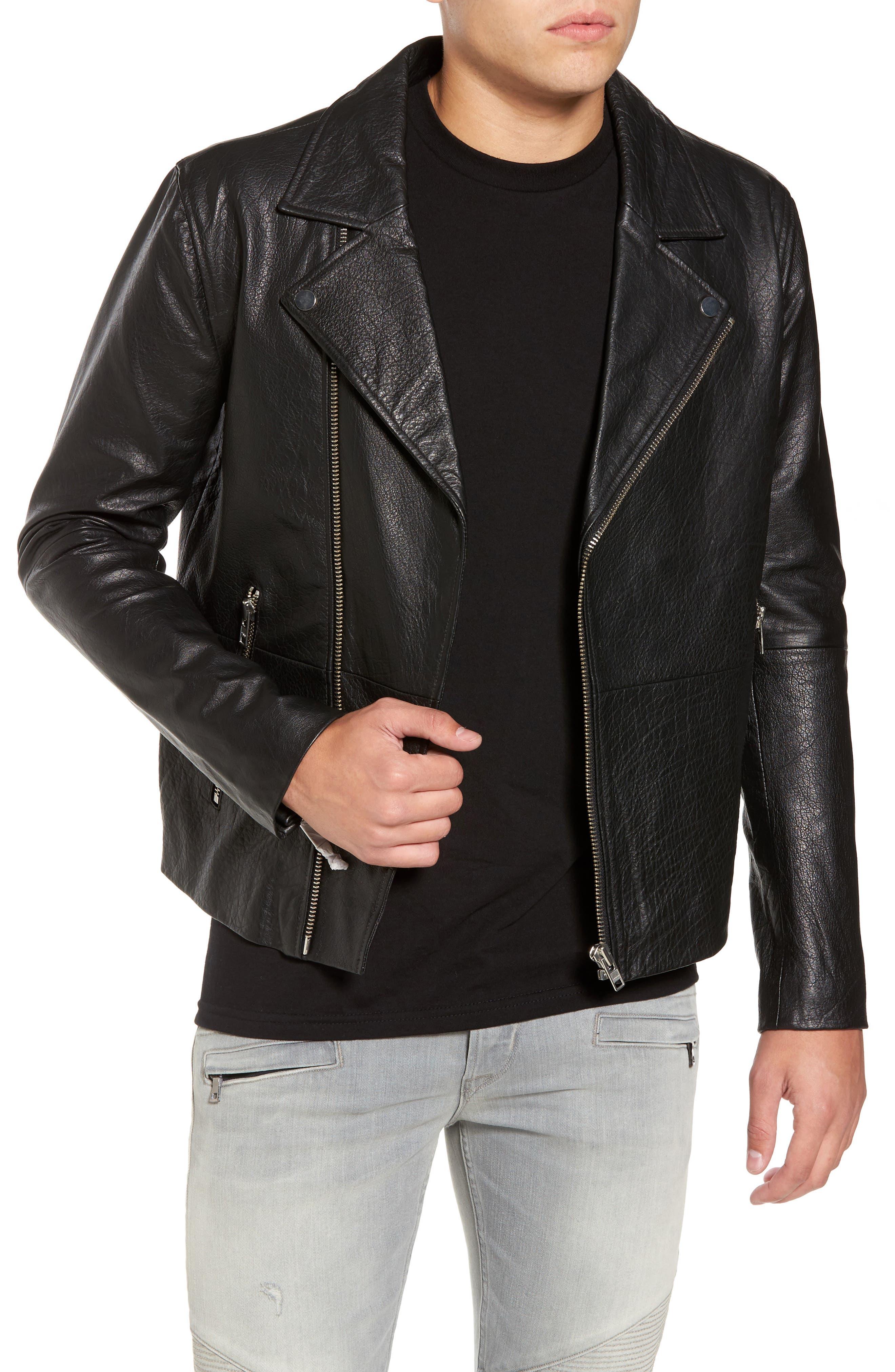 Dr. Denim Supply Co. Londyn Leather Jacket