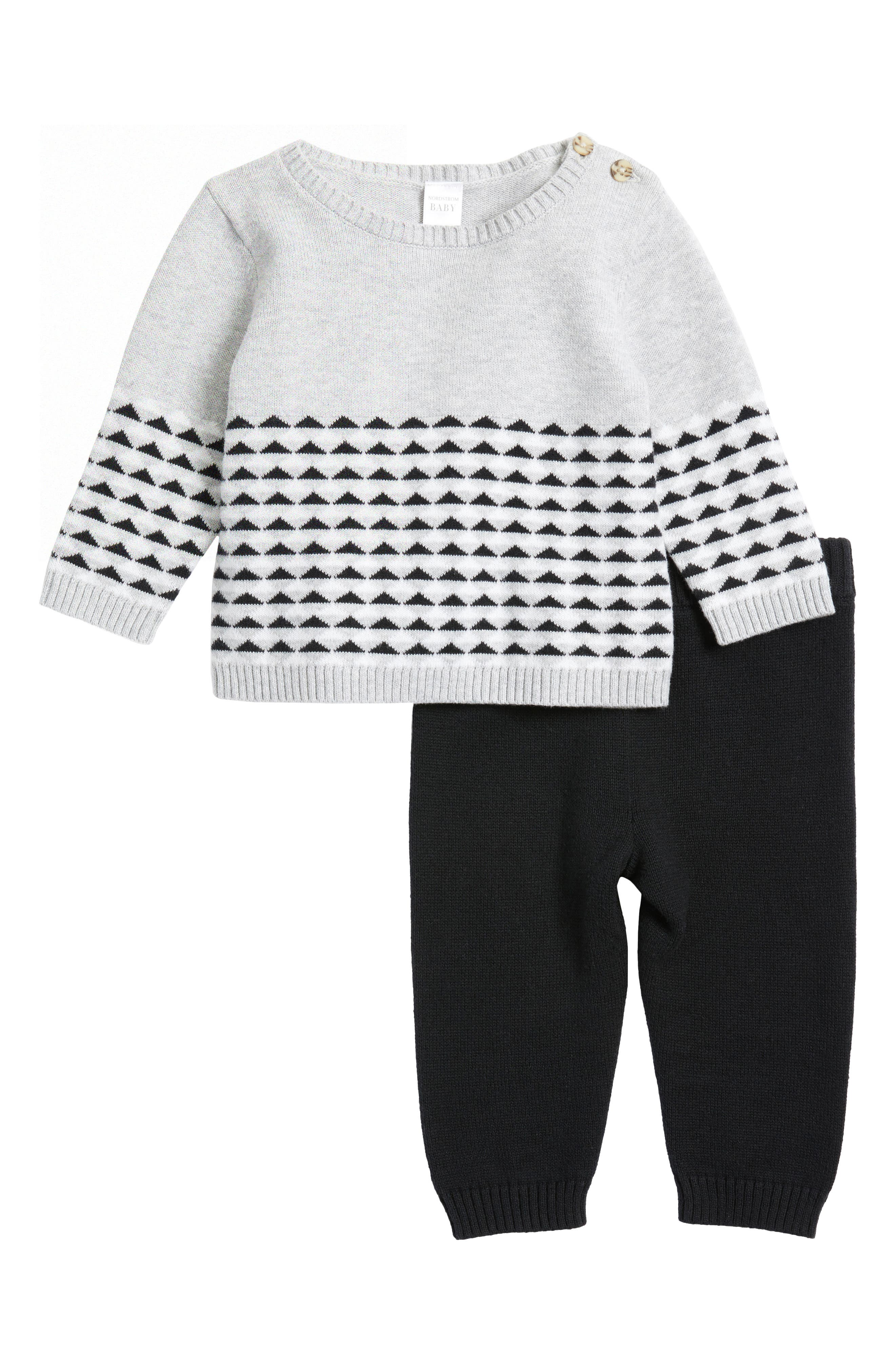 Alternate Image 1 Selected - Nordstrom Baby Sweater & Pants