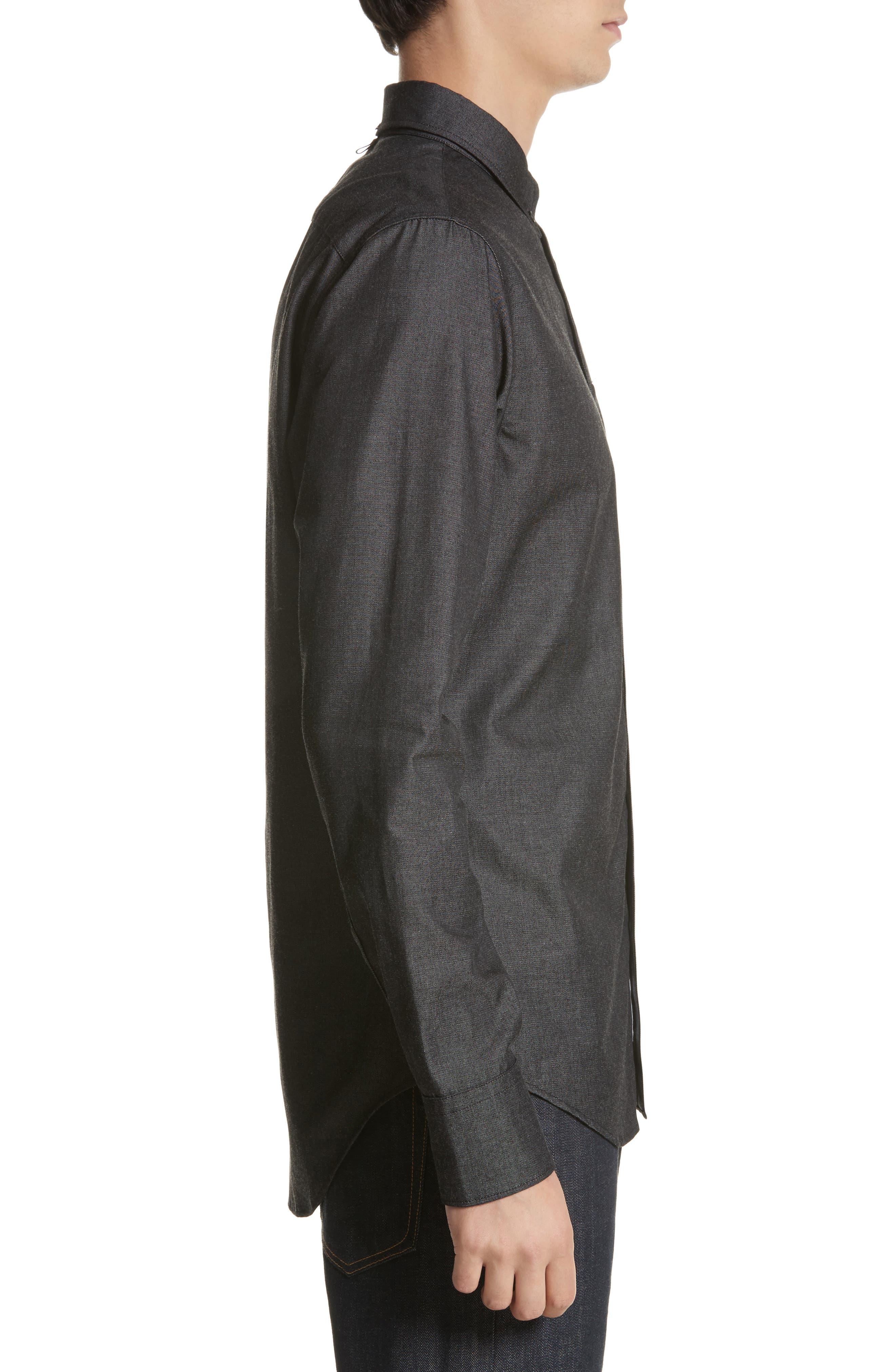 Fit 2 Tomlin Shirt,                             Alternate thumbnail 4, color,                             Black