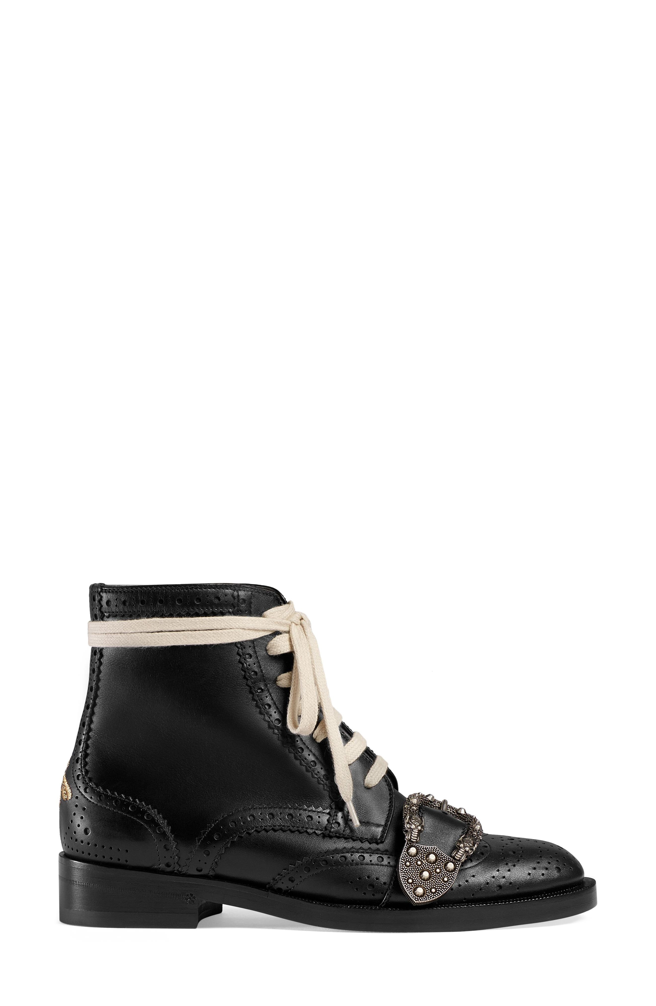 Alternate Image 2  - Gucci Queercore Combat Boot (Women)