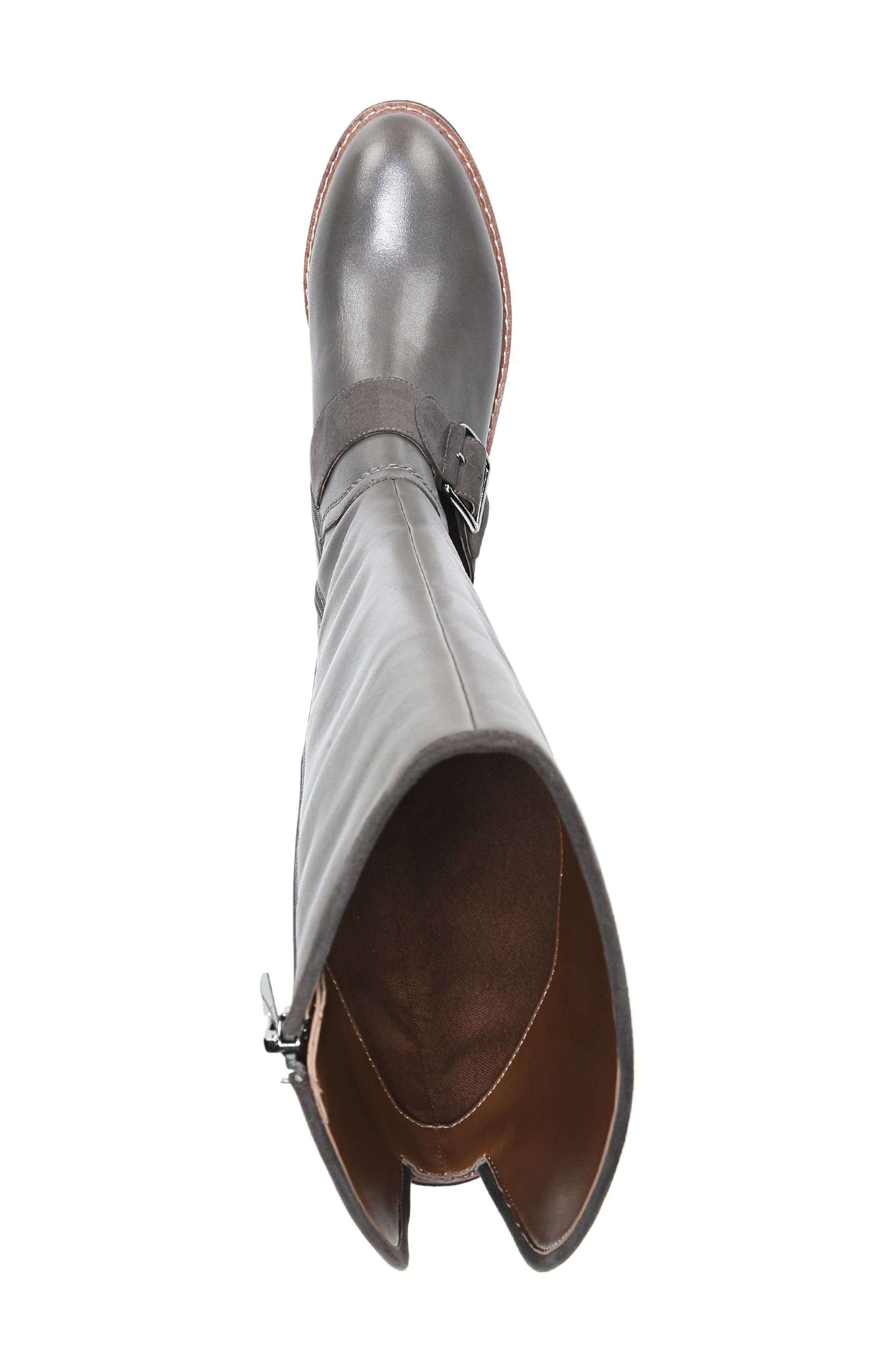 Cutler Riding Boot,                             Alternate thumbnail 5, color,                             Peat Leather