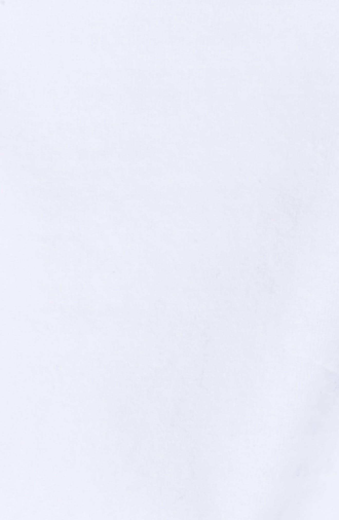Ariana Graphic Hoodie,                             Alternate thumbnail 6, color,                             White/ Black