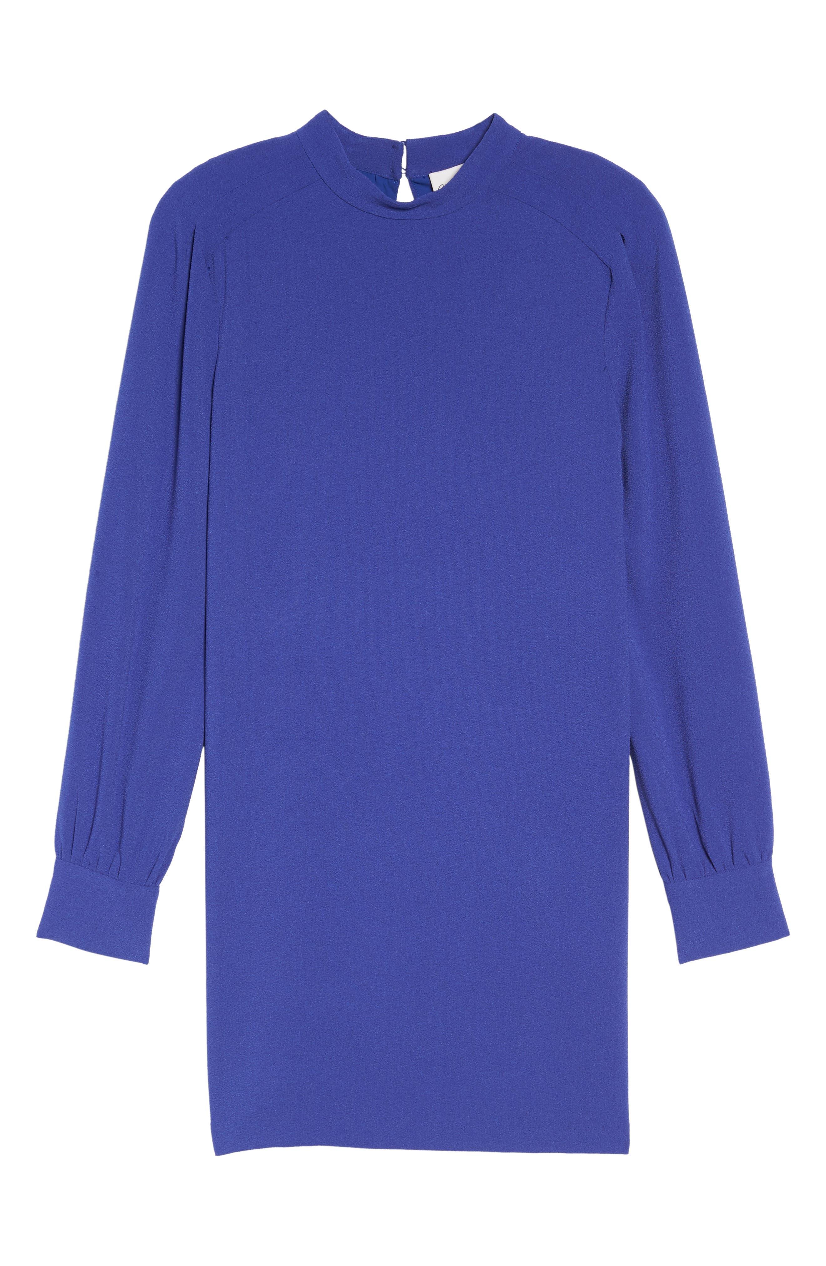 Alternate Image 6  - Charles Henry Blouson Sleeve Shift Dress