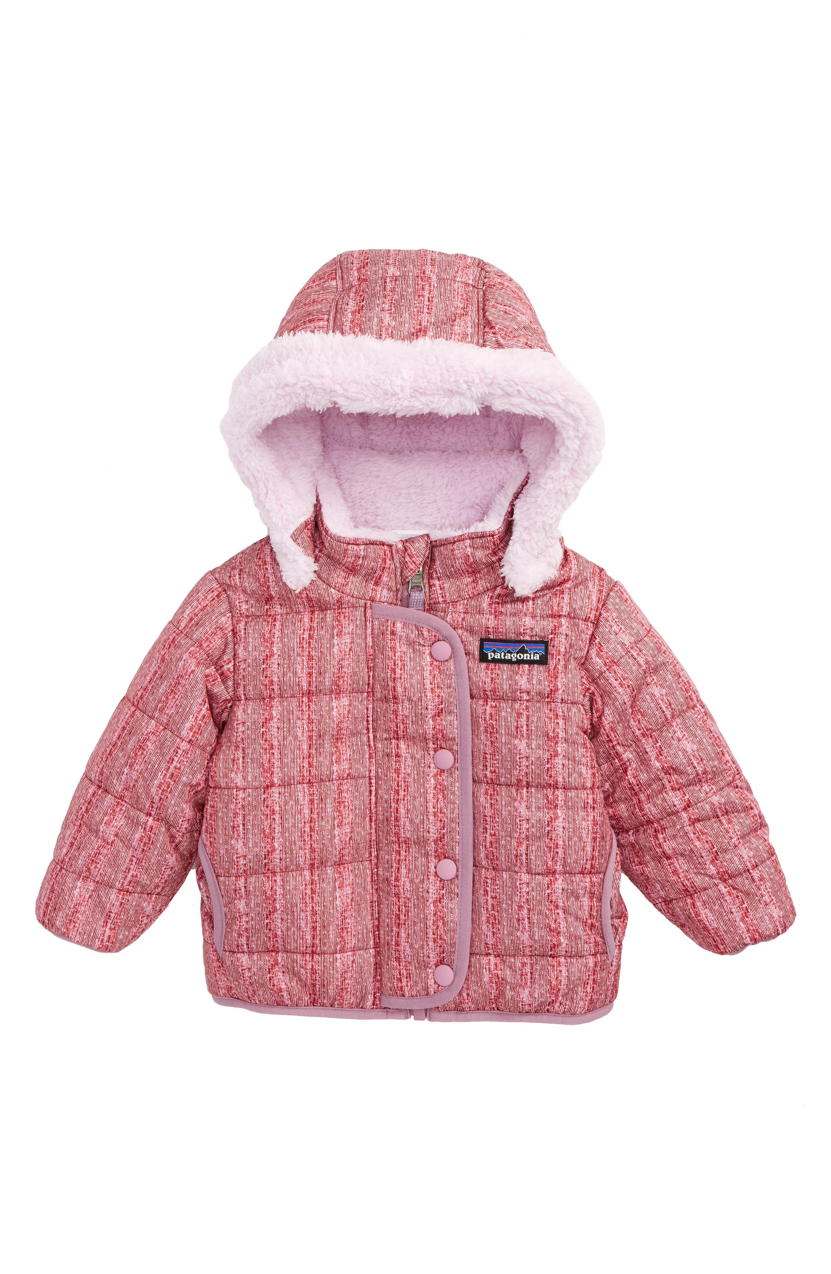 Main Image - Patagonia Dream Song Water-Repellent Reversible Jacket (Baby Girls)