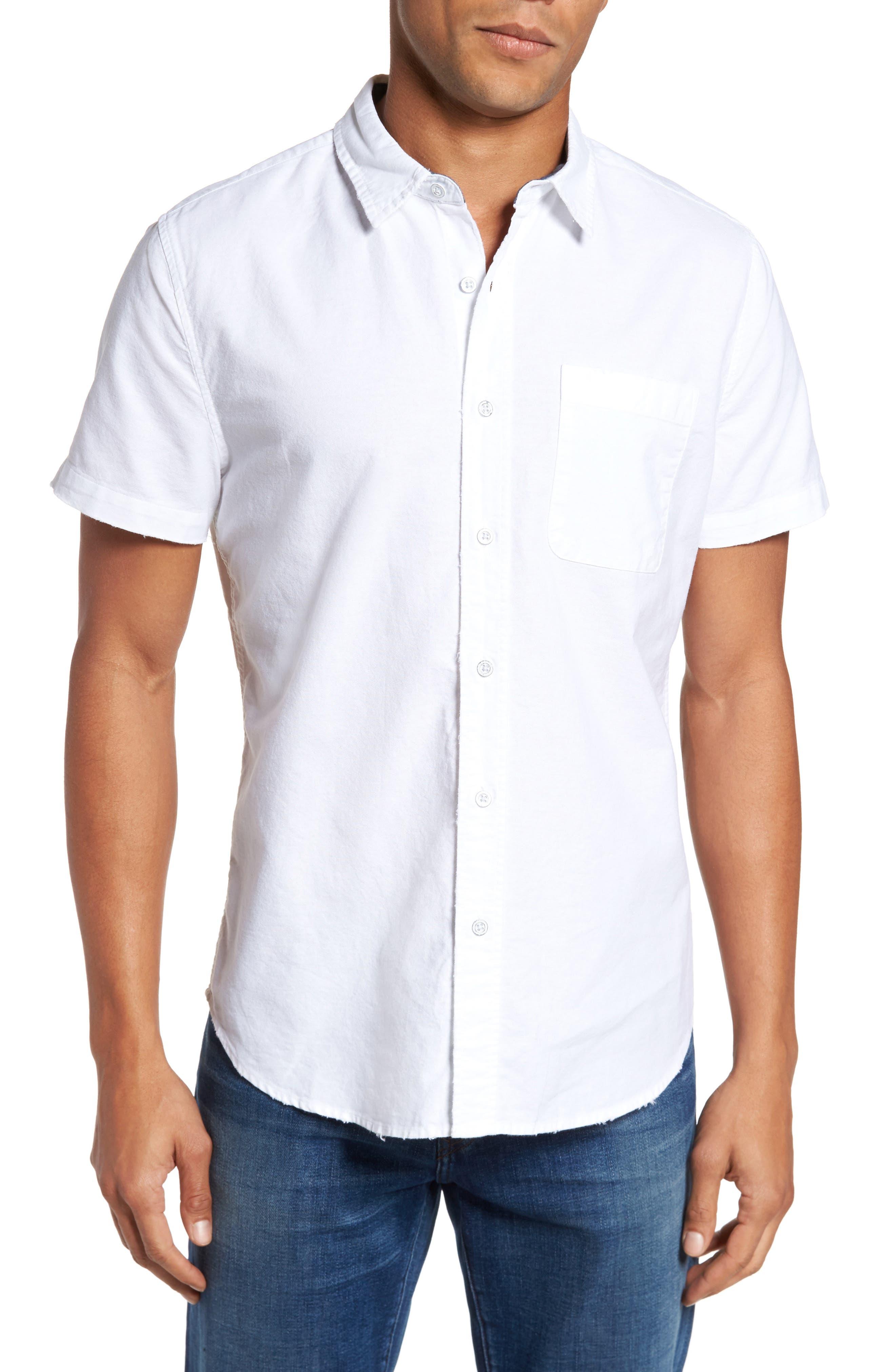 Alternate Image 1 Selected - AG Nash Slim Fit Sport Shirt