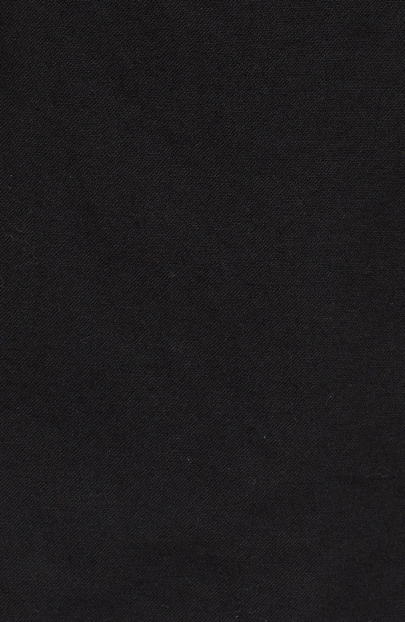 Fusion Field Coat,                             Alternate thumbnail 5, color,                             Black/ Sage