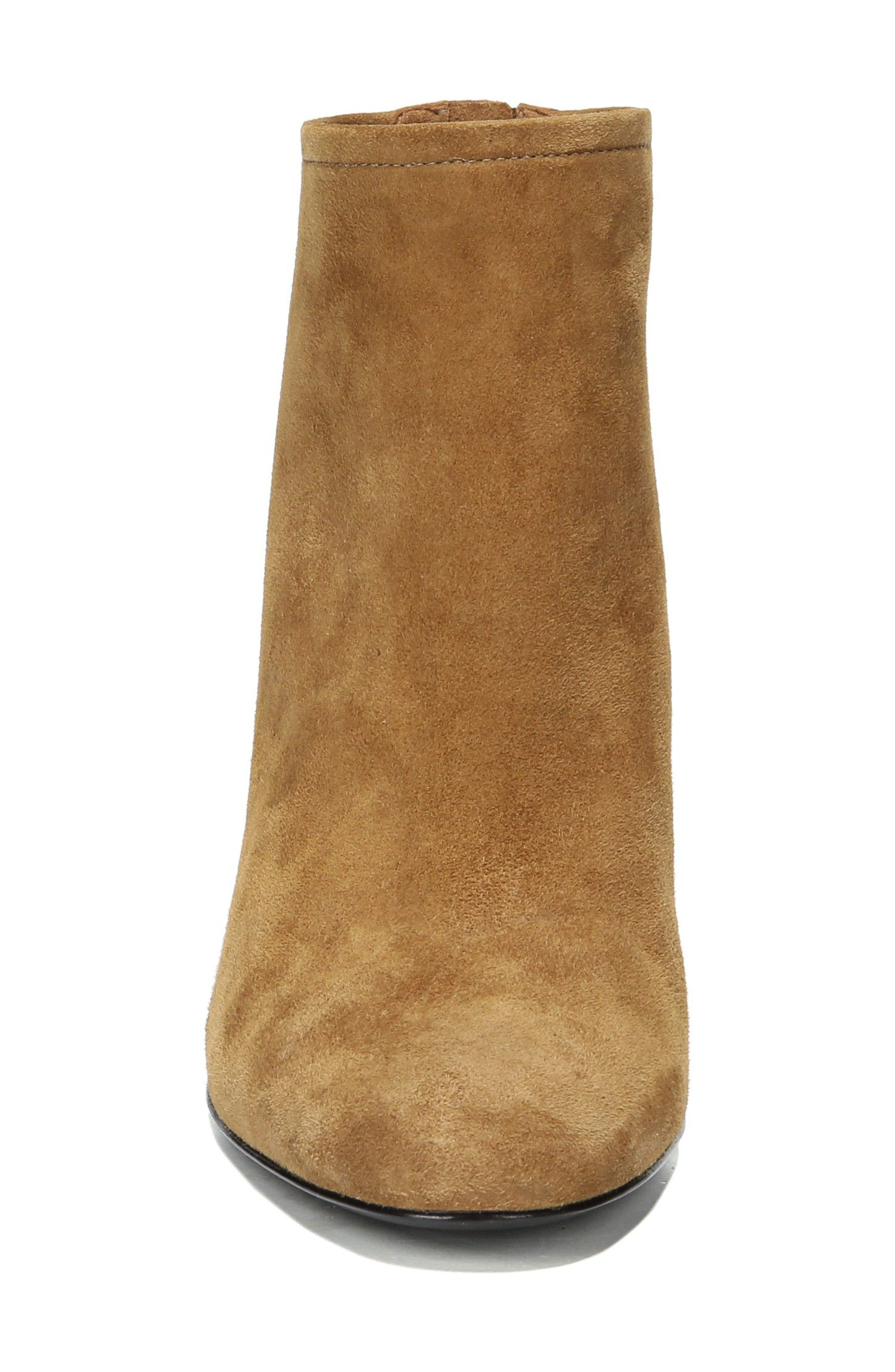 Nadia Bootie,                             Alternate thumbnail 5, color,                             Cuoio Suede