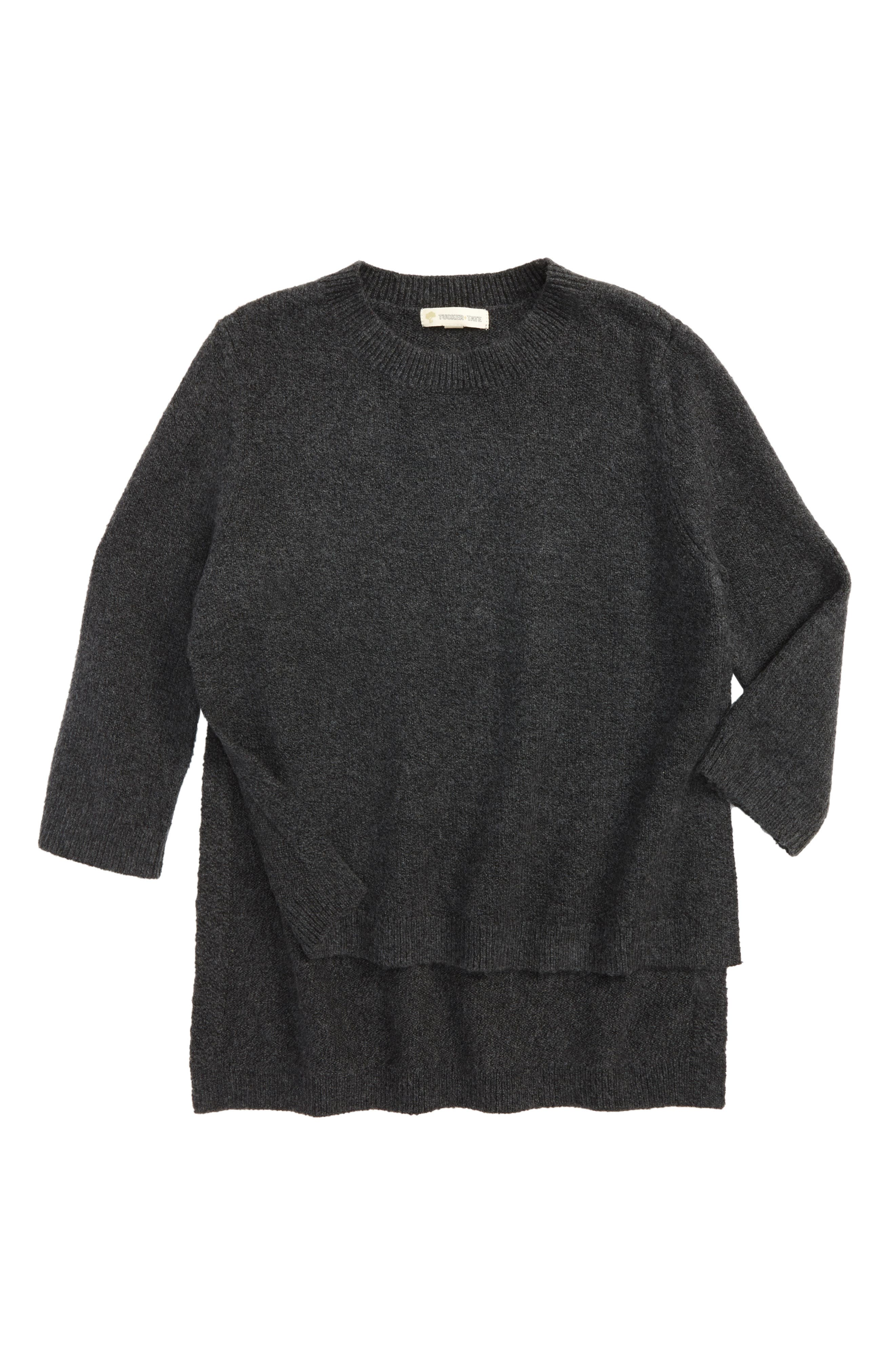 Tucker + Tate Side Split Sweater (Big Girls)