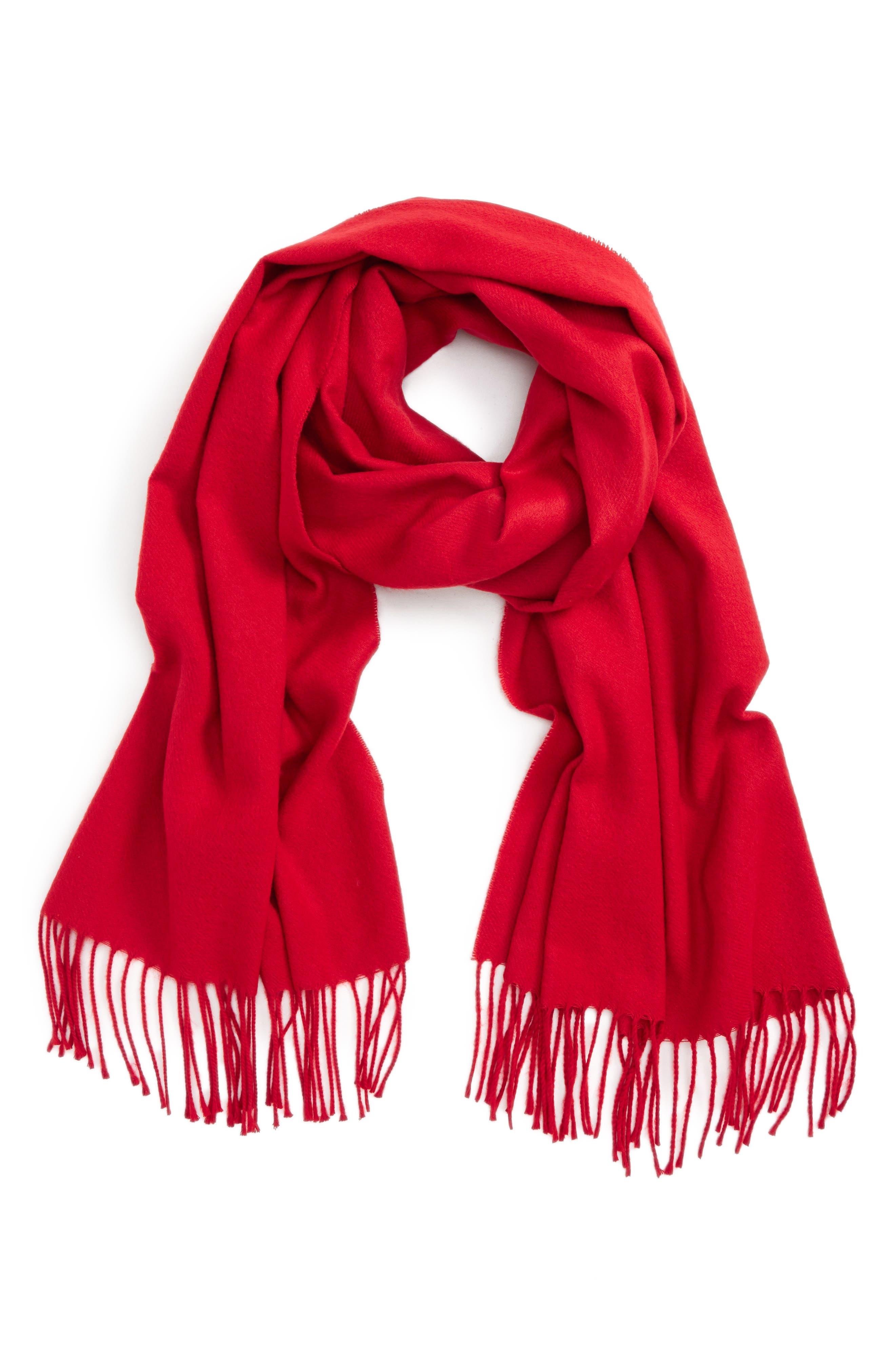 Fargo Scarf,                         Main,                         color, Red