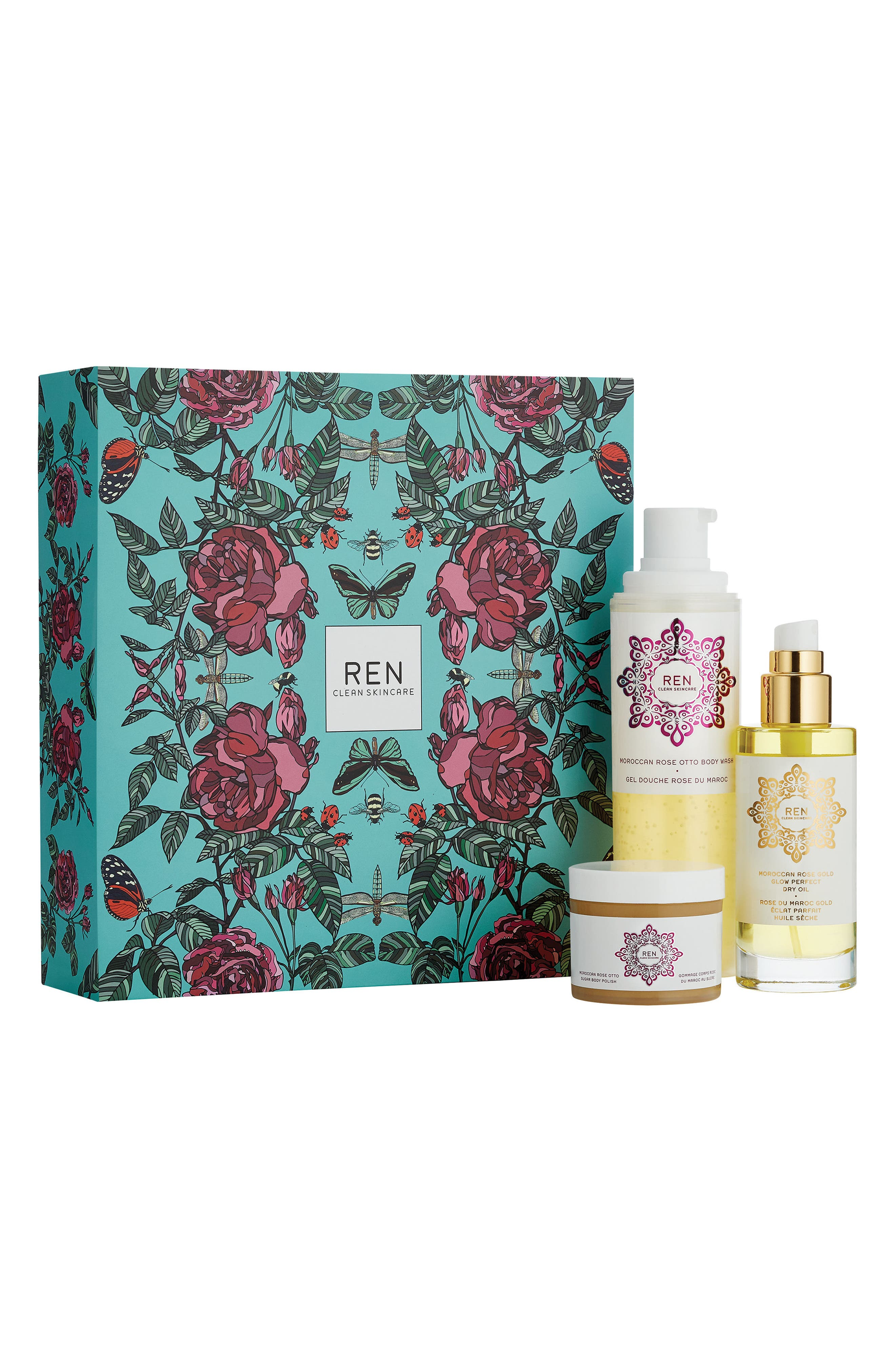 Alternate Image 1 Selected - SPACE.NK.apothecary REN Rose Luxury Set ($101 Value)