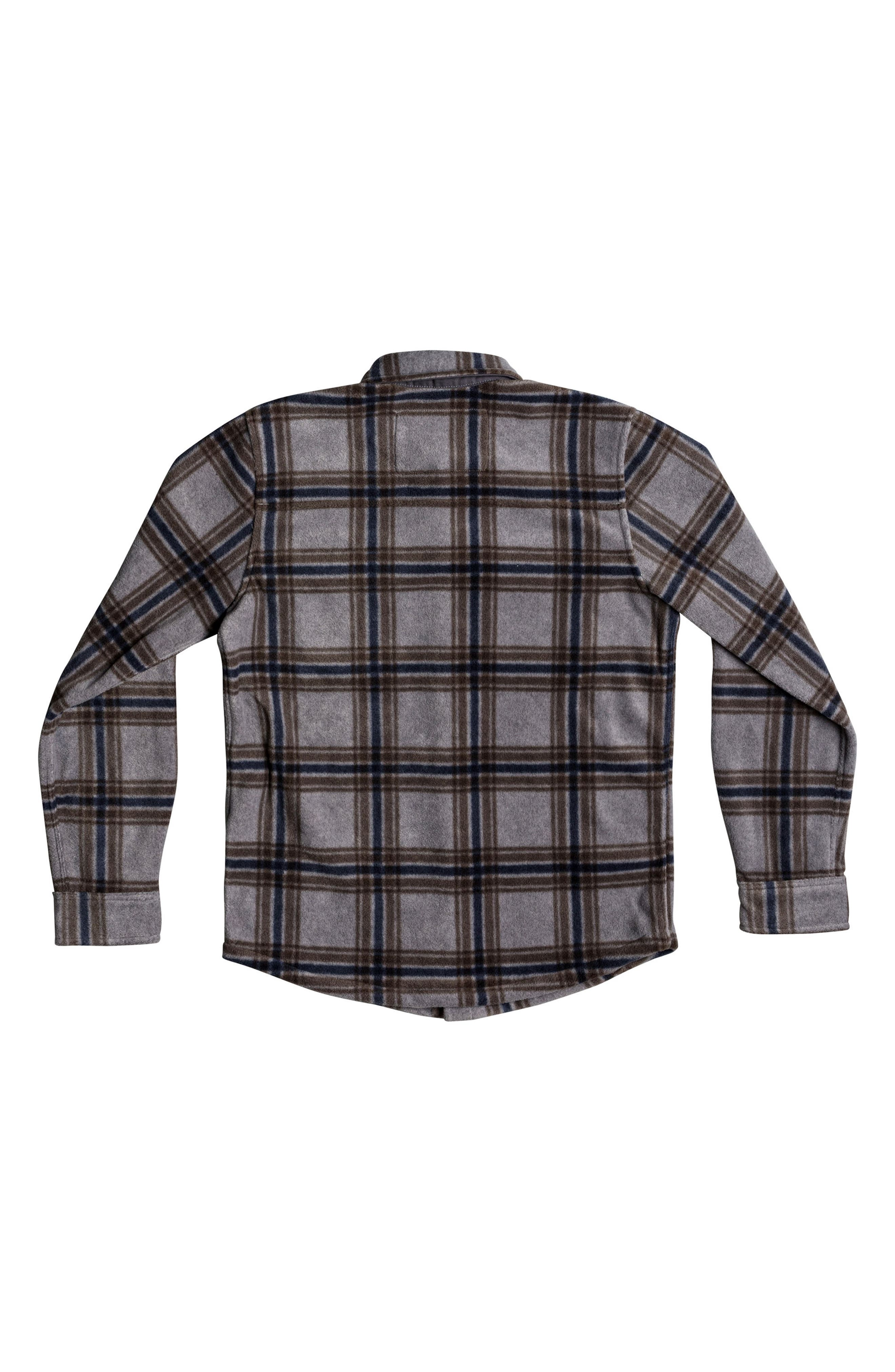 Surf Days Plaid Shirt,                             Alternate thumbnail 2, color,                             Medium Grey Heather Check