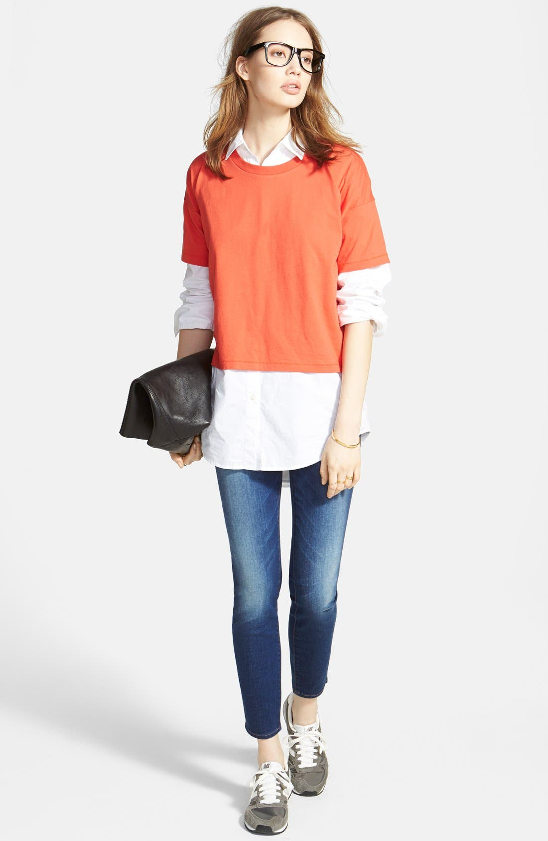 Alternate Image 5  - Madewell Oversize Button Front Shirt