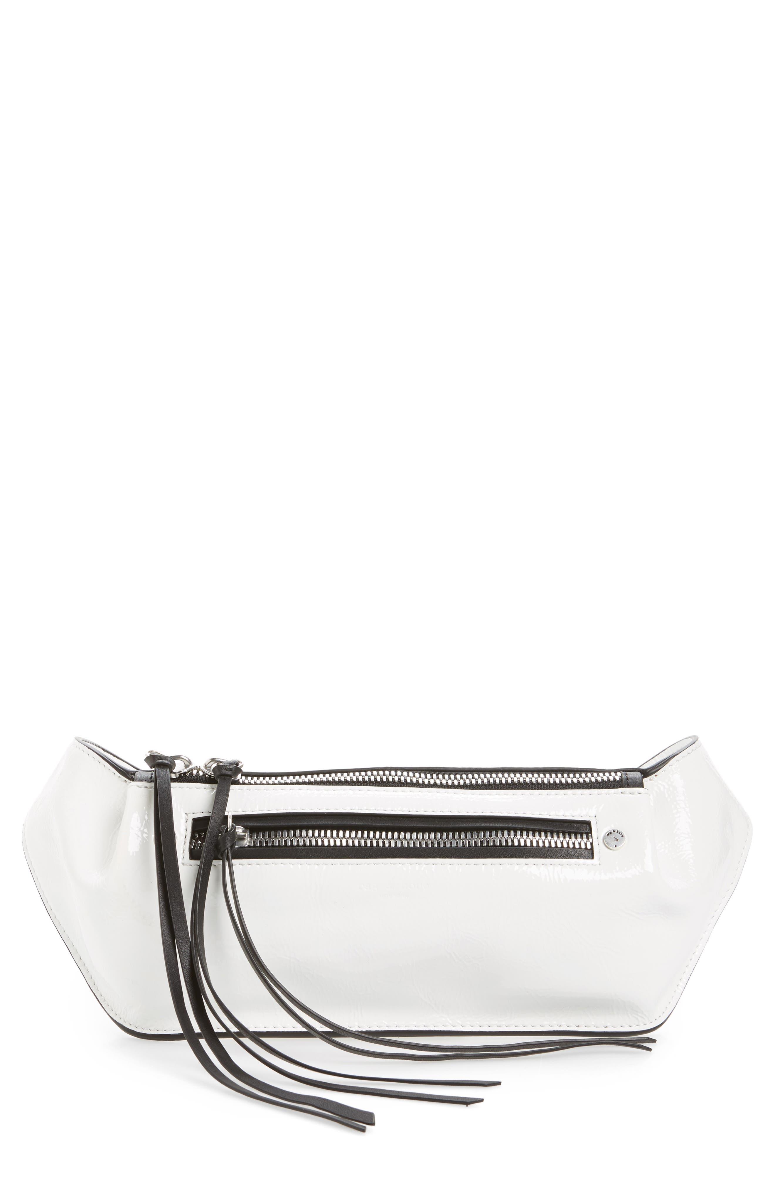 Alternate Image 1 Selected - rag & bone Ellis Leather Belt Bag