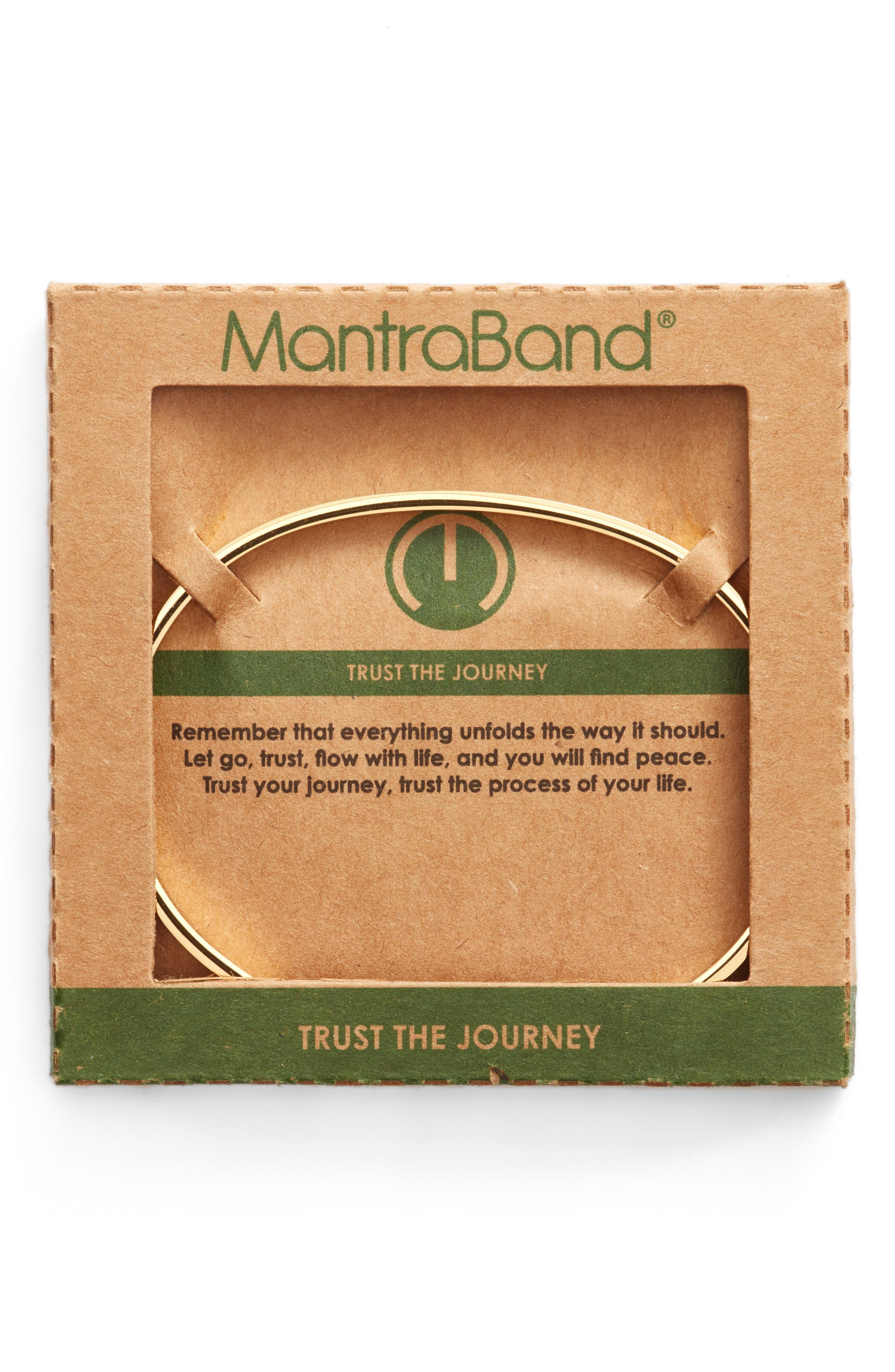 Trust the Journey Cuff,                             Alternate thumbnail 2, color,                             Gold