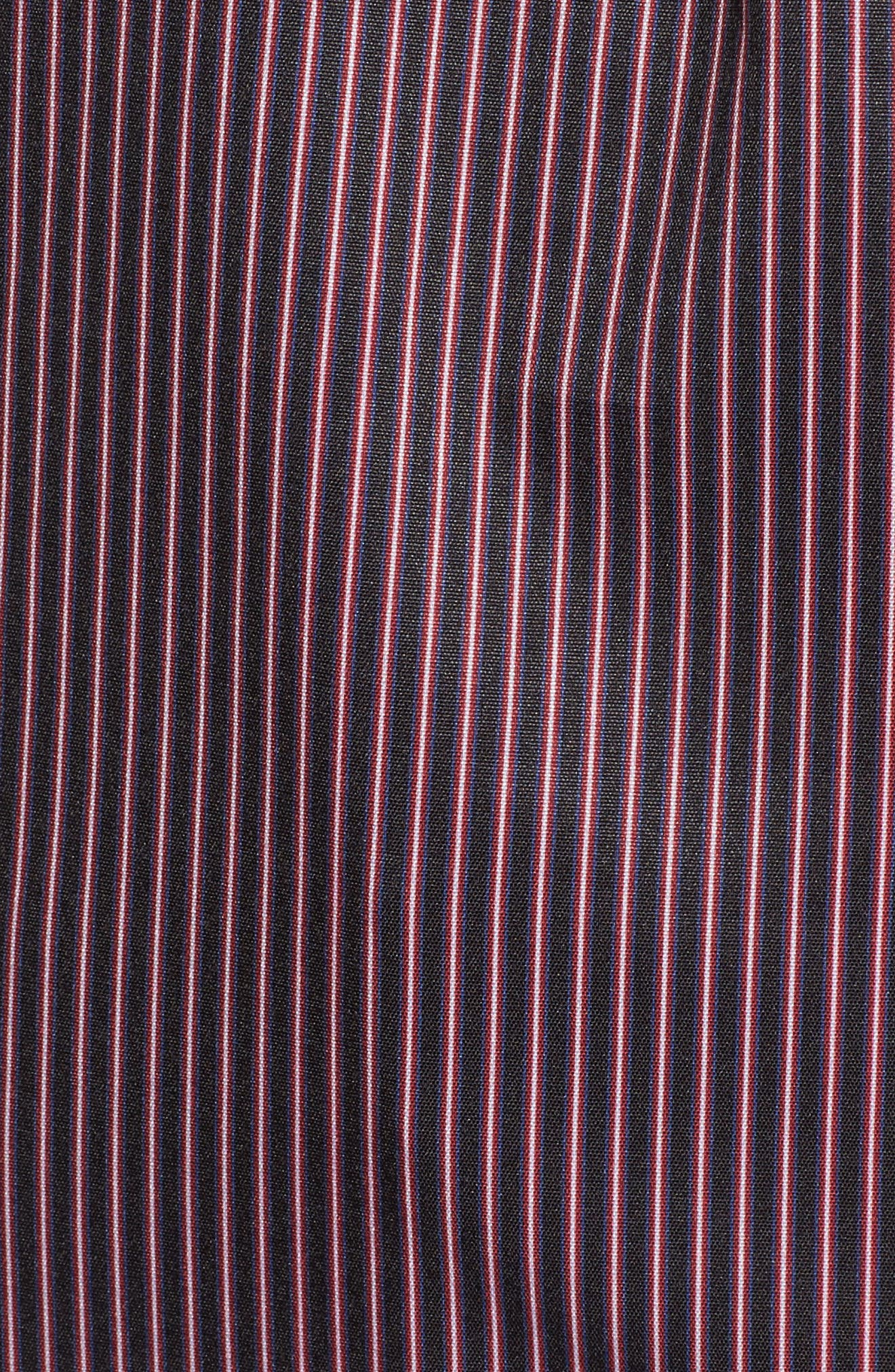 Alternate Image 5  - EVIDNT Shirring Stripe Top