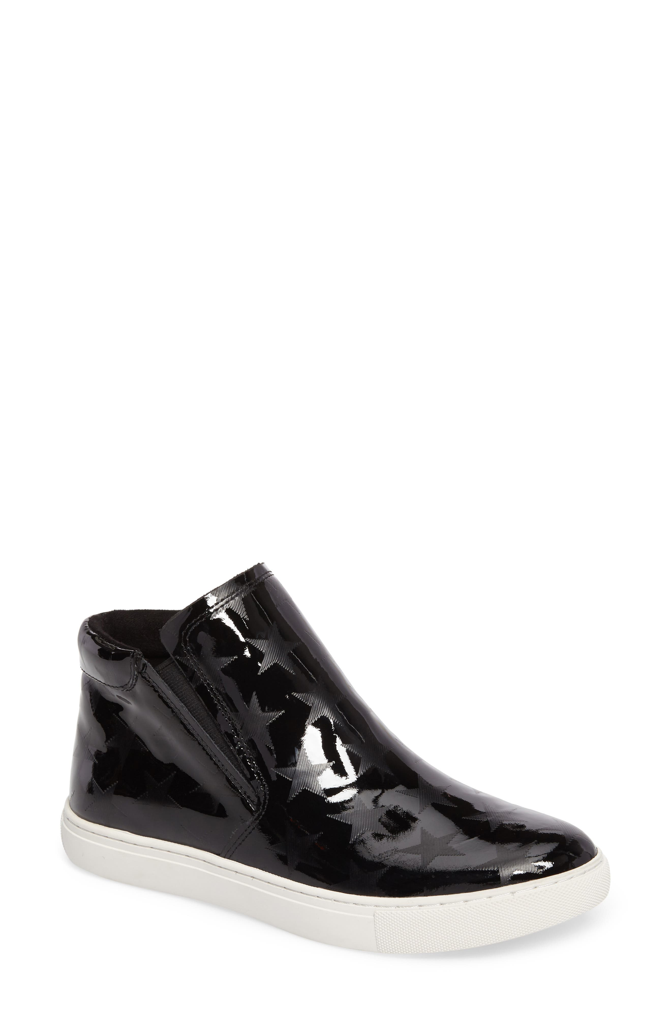 Kenneth Cole New York Kalvin 3 Crystal Embellished Mid Top Sneaker (Women)