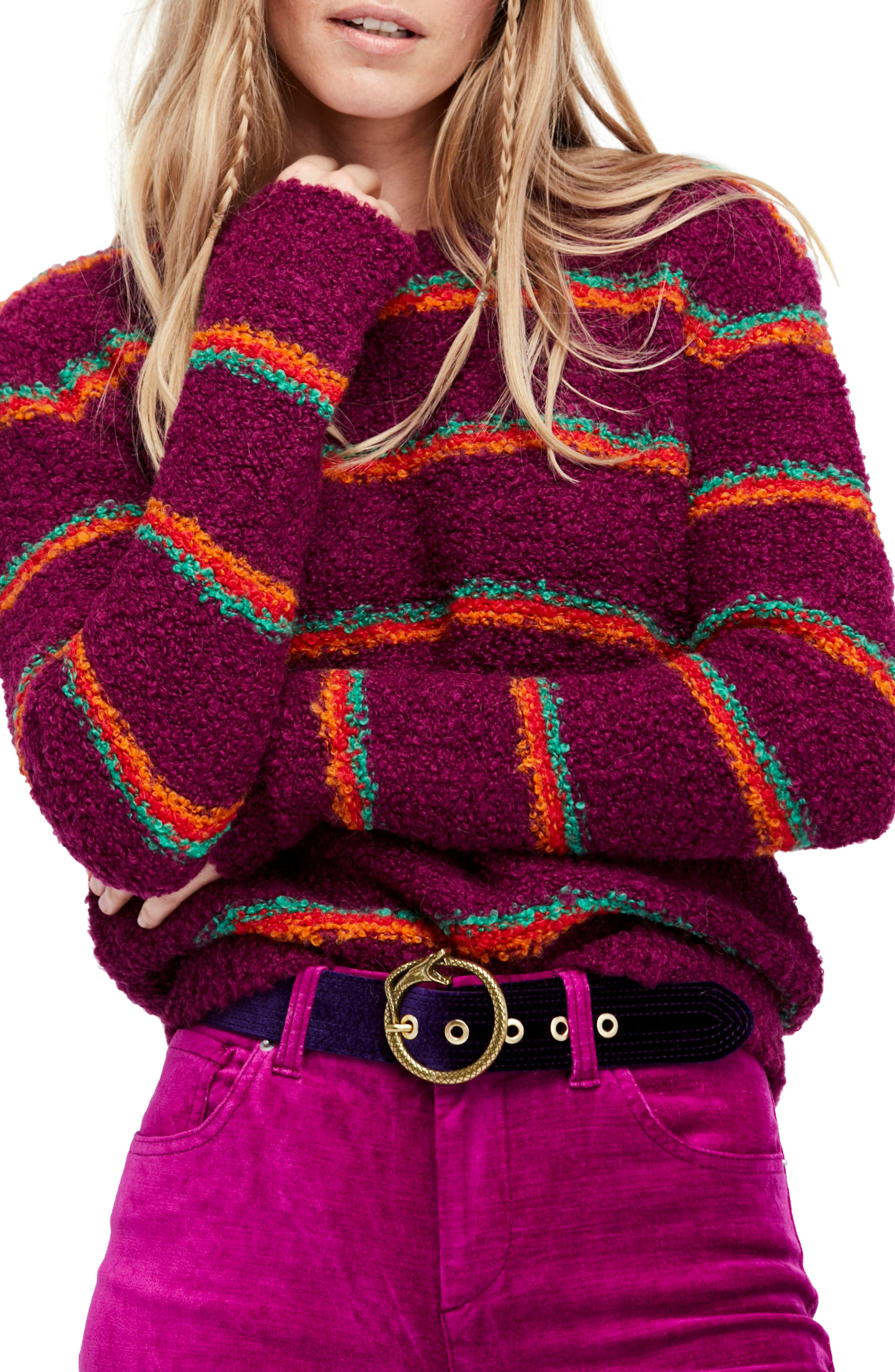 Main Image - Free People Best Day Ever Sweater