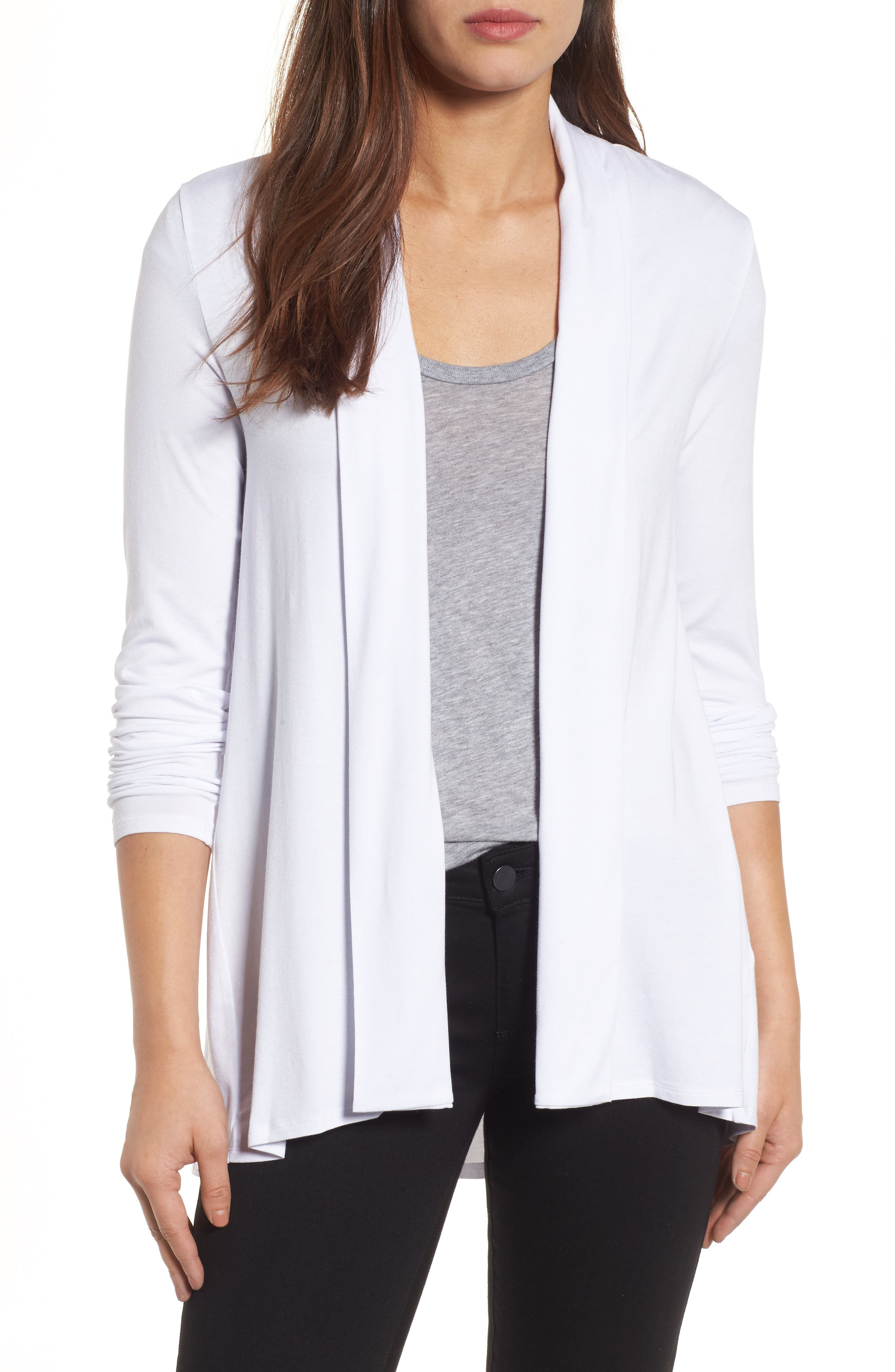 Alternate Image 1 Selected - Vince Camuto Open Front Cardigan