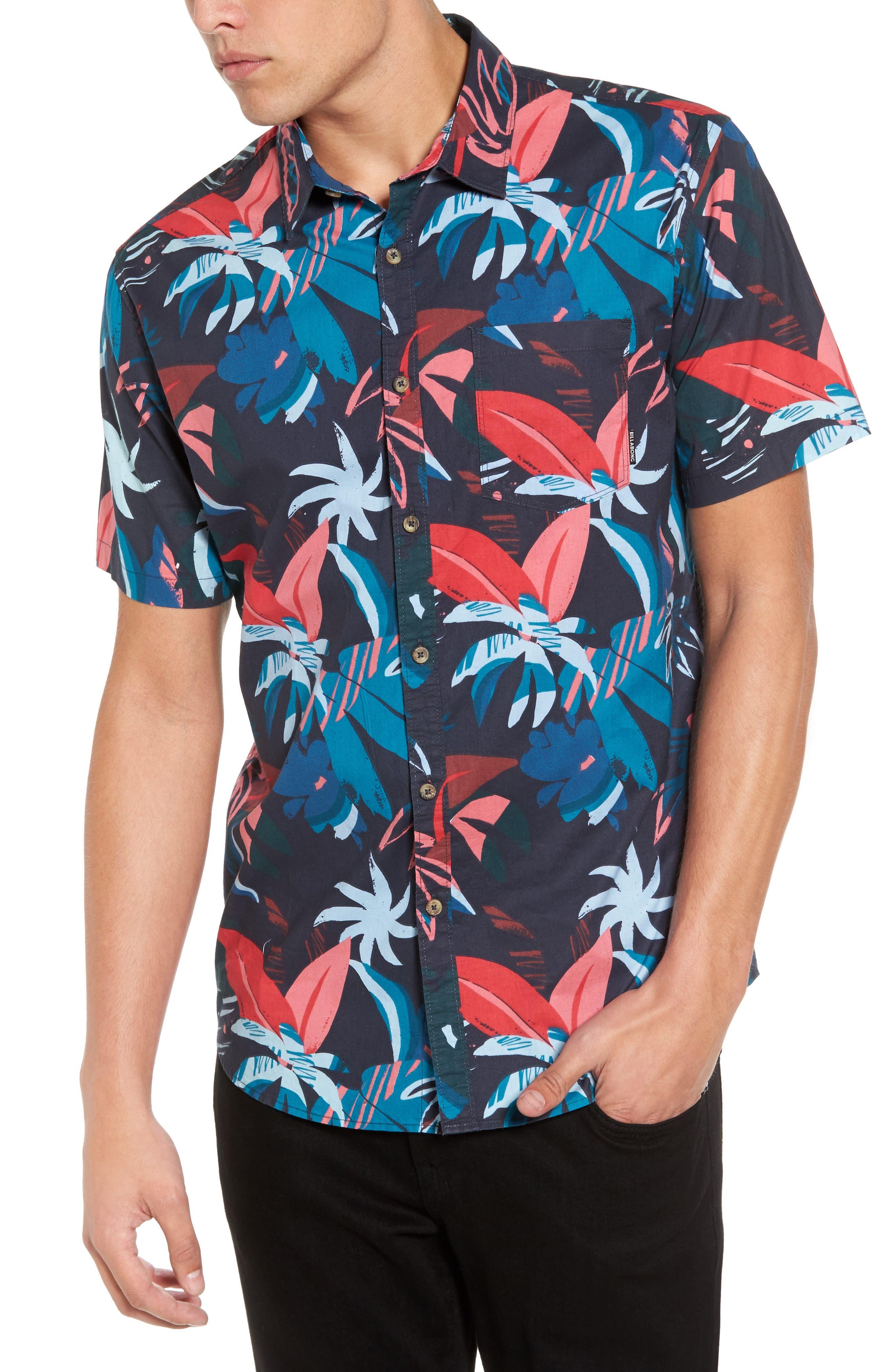 Main Image - Billabong Sundays Woven Shirt