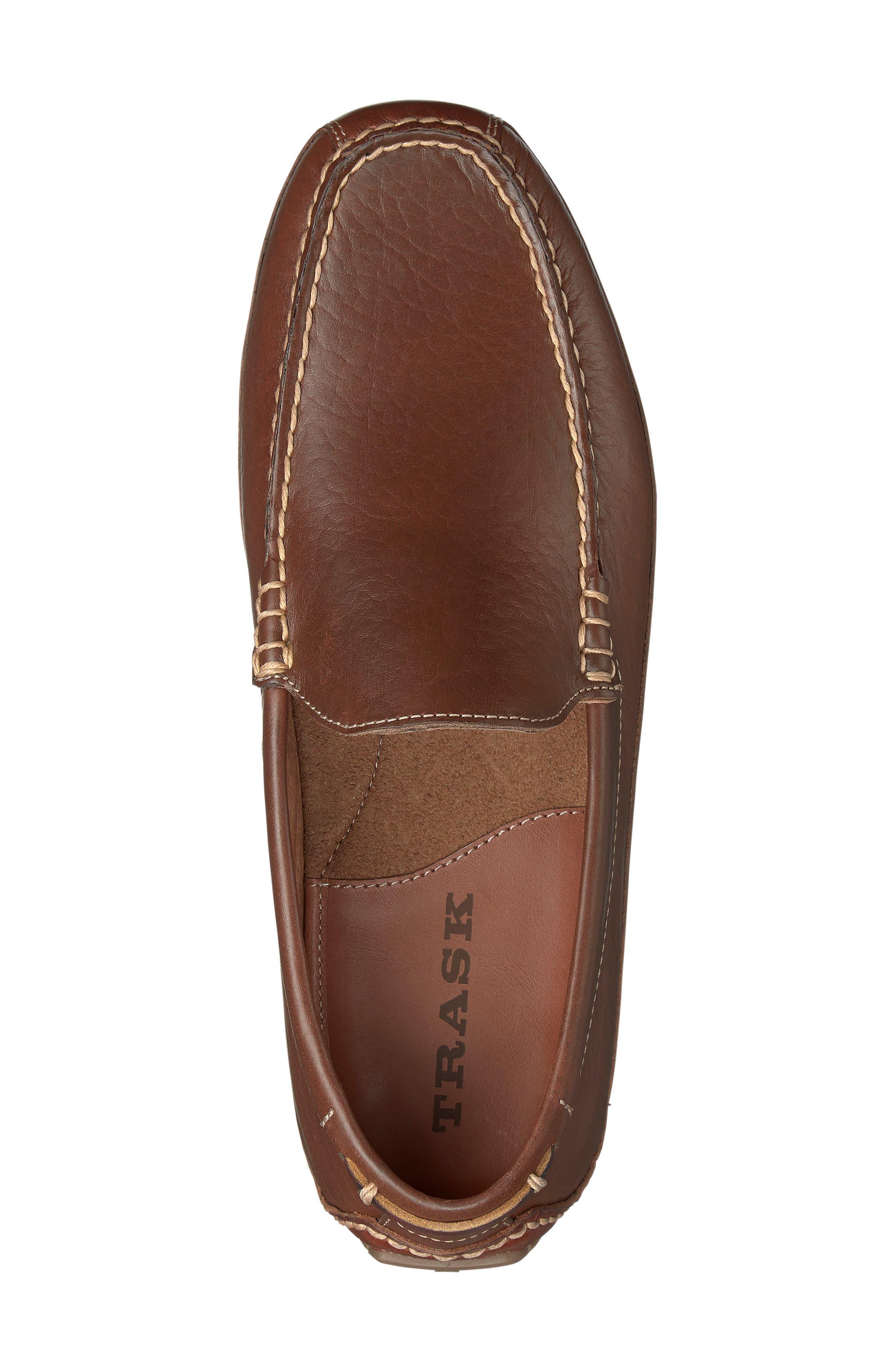 Dean Driving Shoe,                             Alternate thumbnail 3, color,                             Saddle Tan Leather