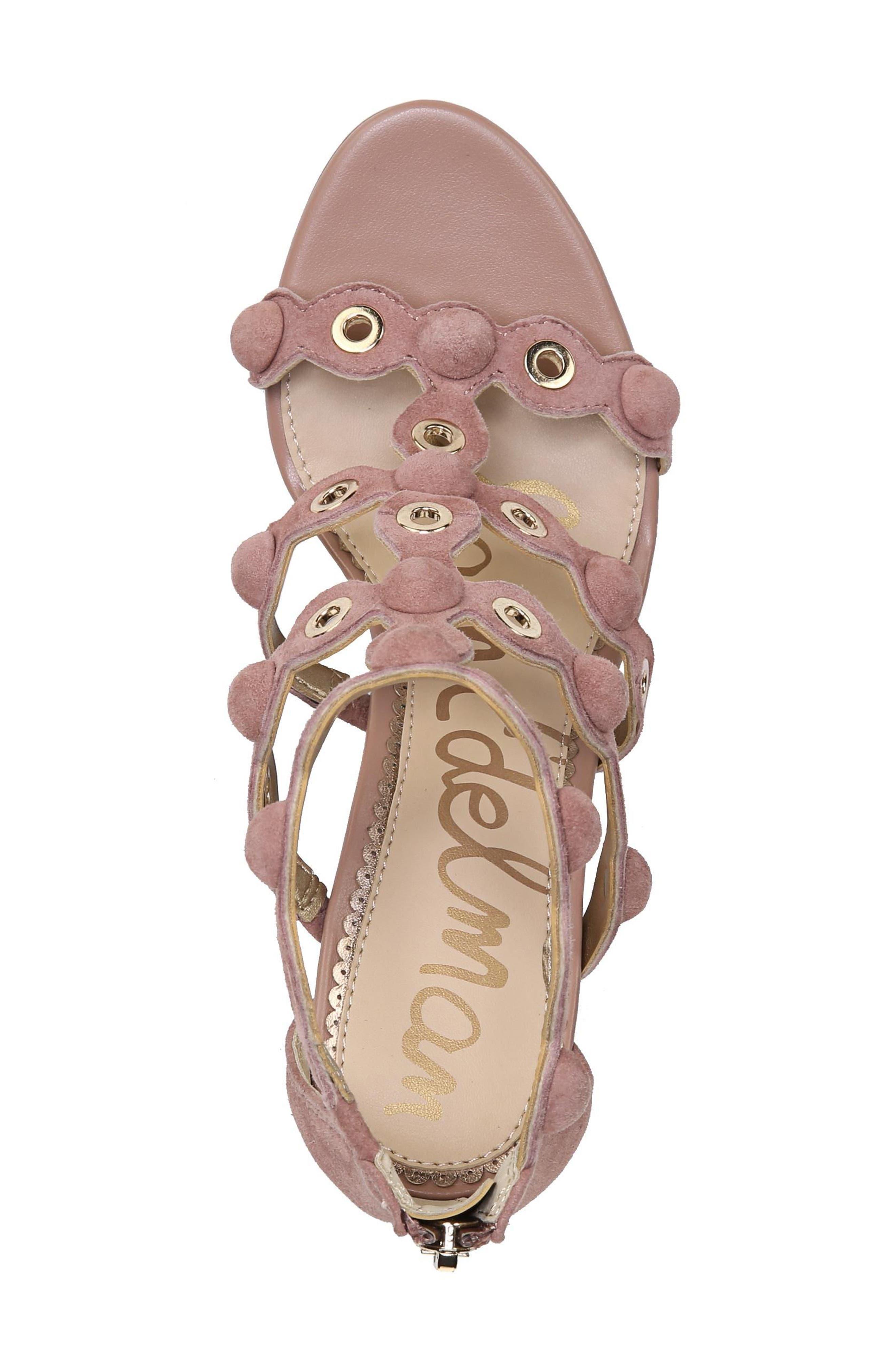 Alternate Image 6  - Sam Edelman Yuli Grommet Sandal (Women)