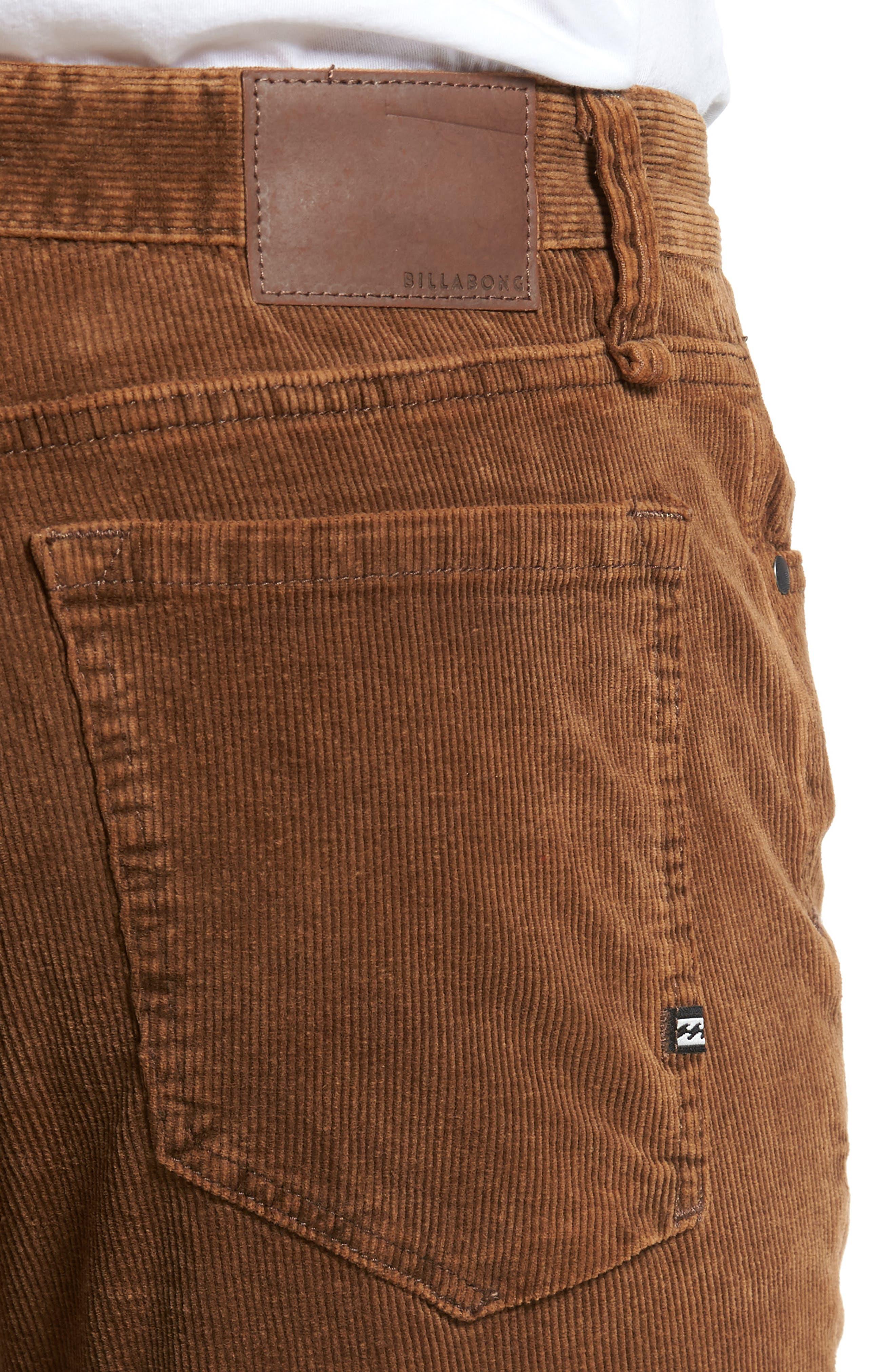 Alternate Image 4  - Billabong Outsider Corduroy Pants