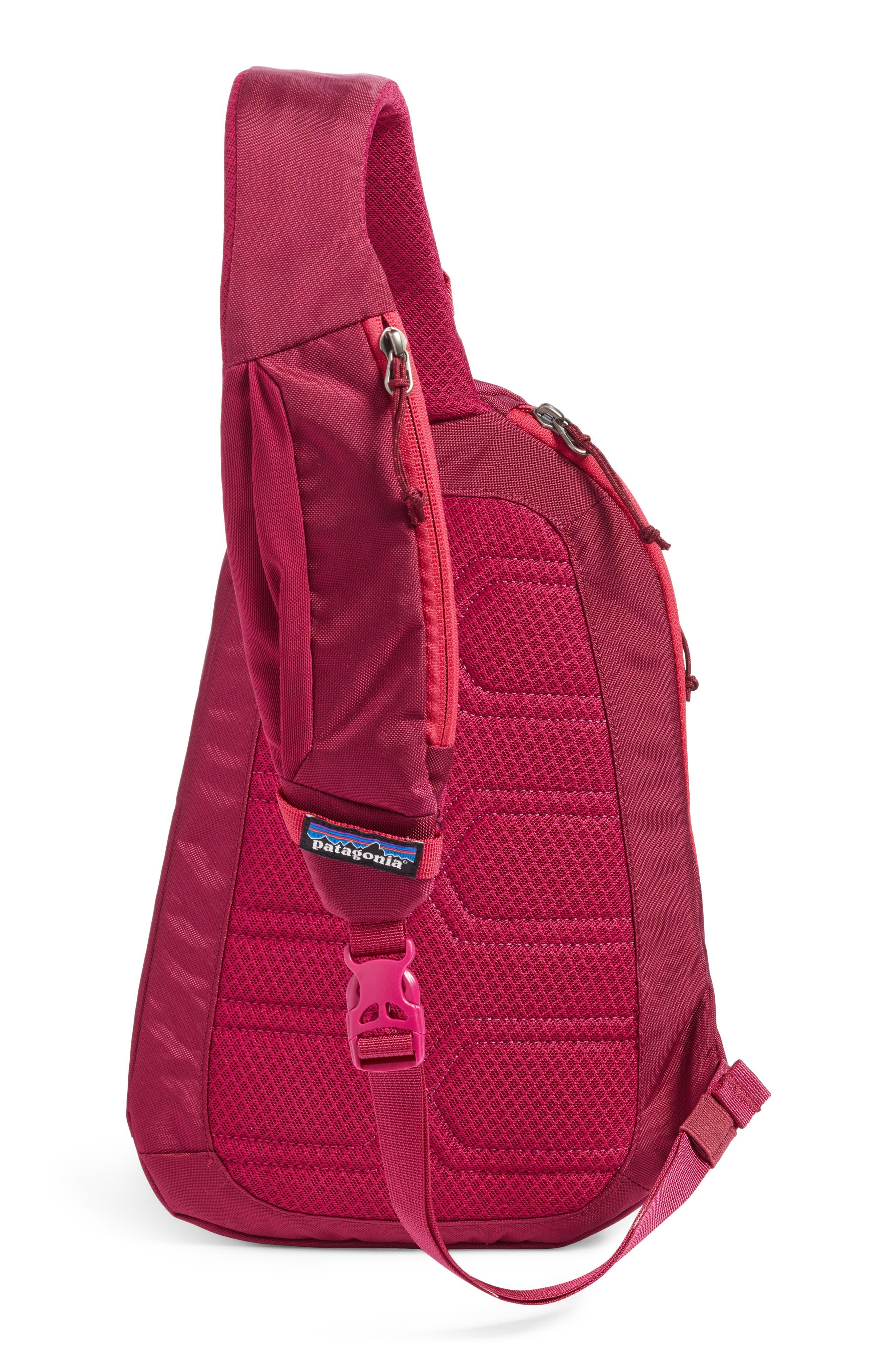 Atom 8L Sling Backpack,                             Alternate thumbnail 3, color,                             Magenta
