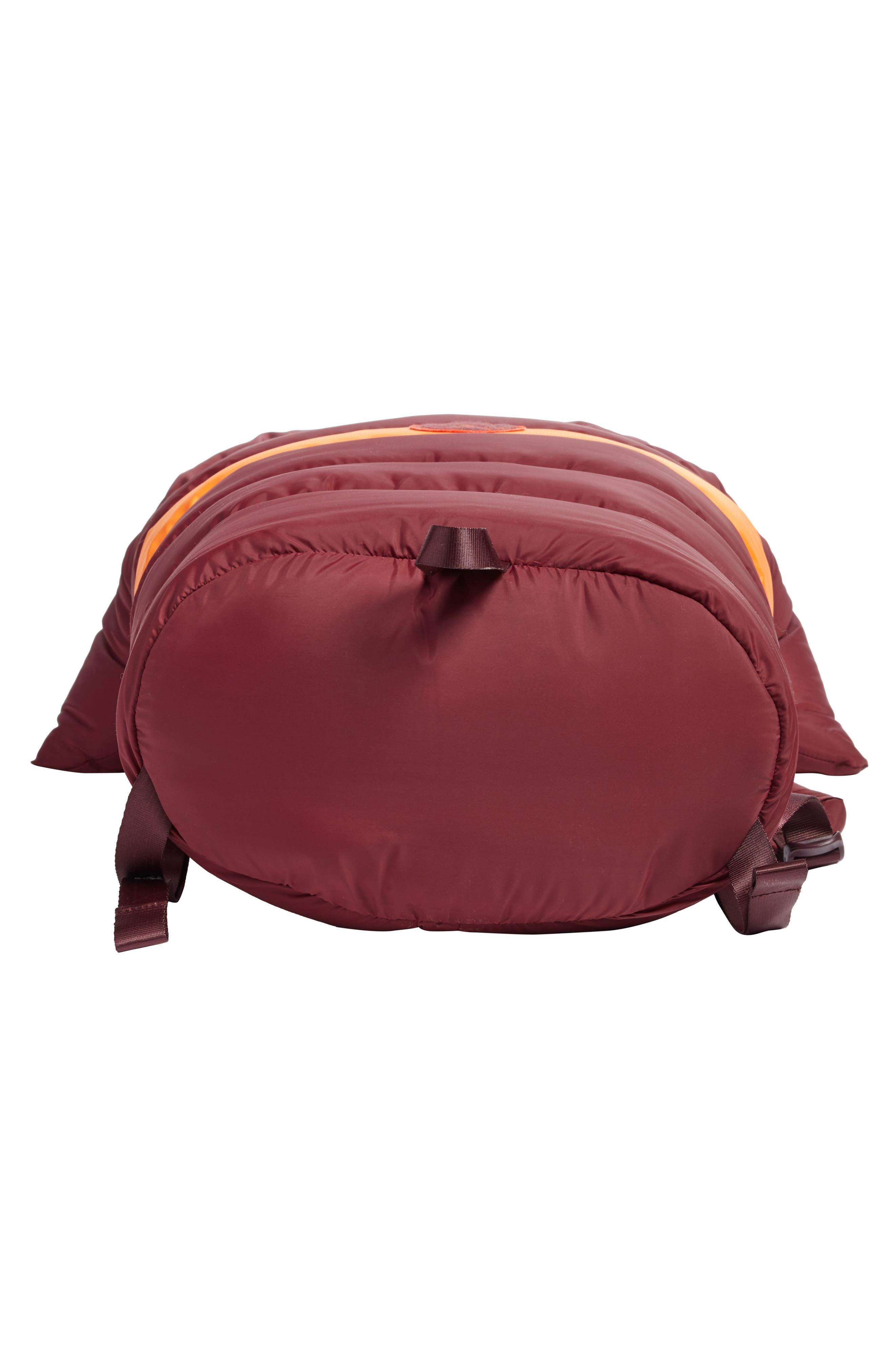 PUMA by Rihanna Backpack,                             Alternate thumbnail 6, color,                             Burgundy Orange