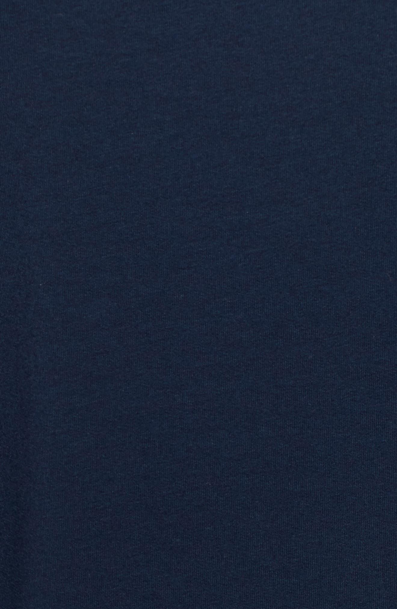 Nadja Dolman Sleeve Dress,                             Alternate thumbnail 6, color,                             Navy