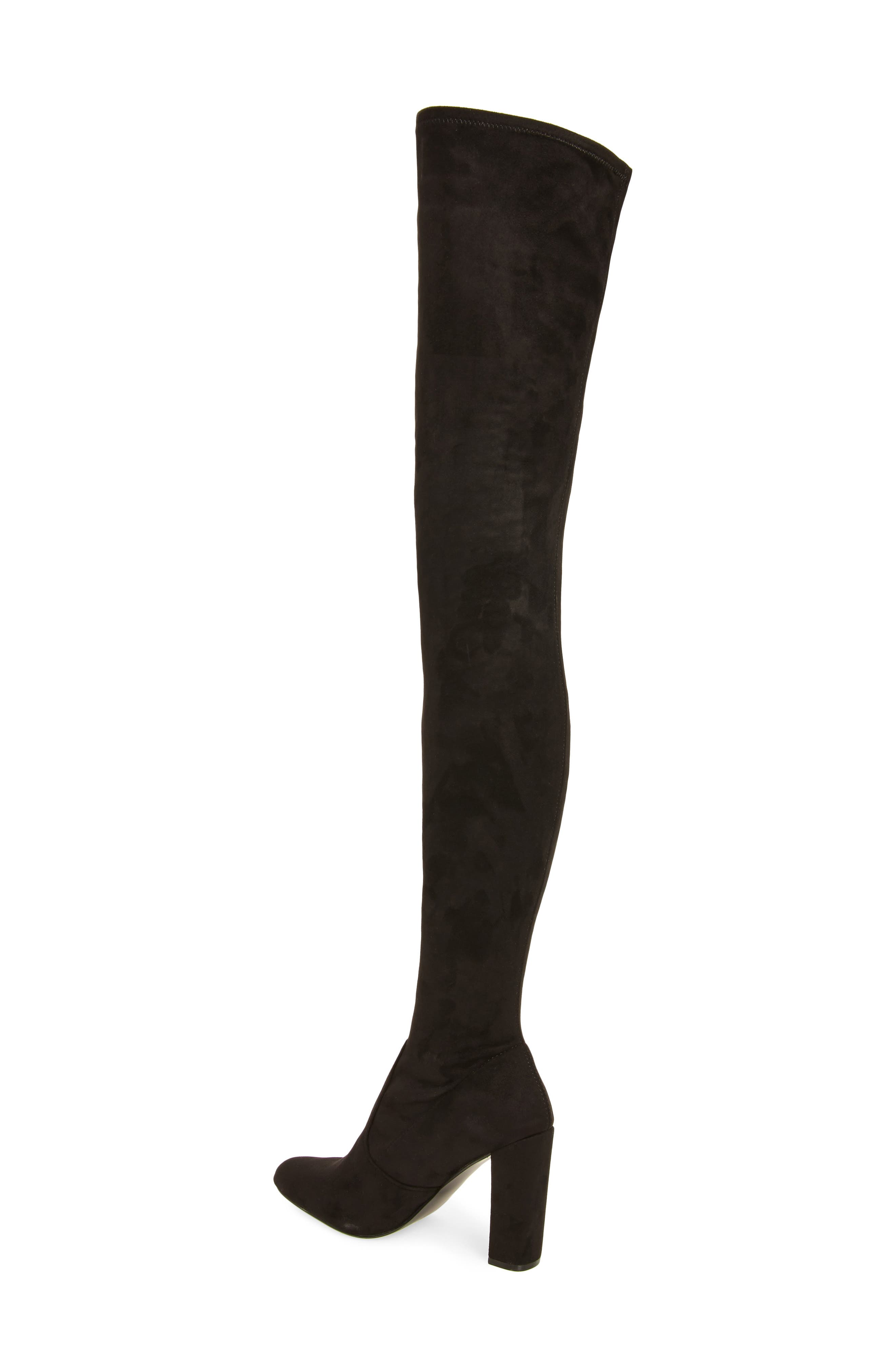 Alternate Image 2  - Steve Madden Ezra Thigh High Boot (Women)