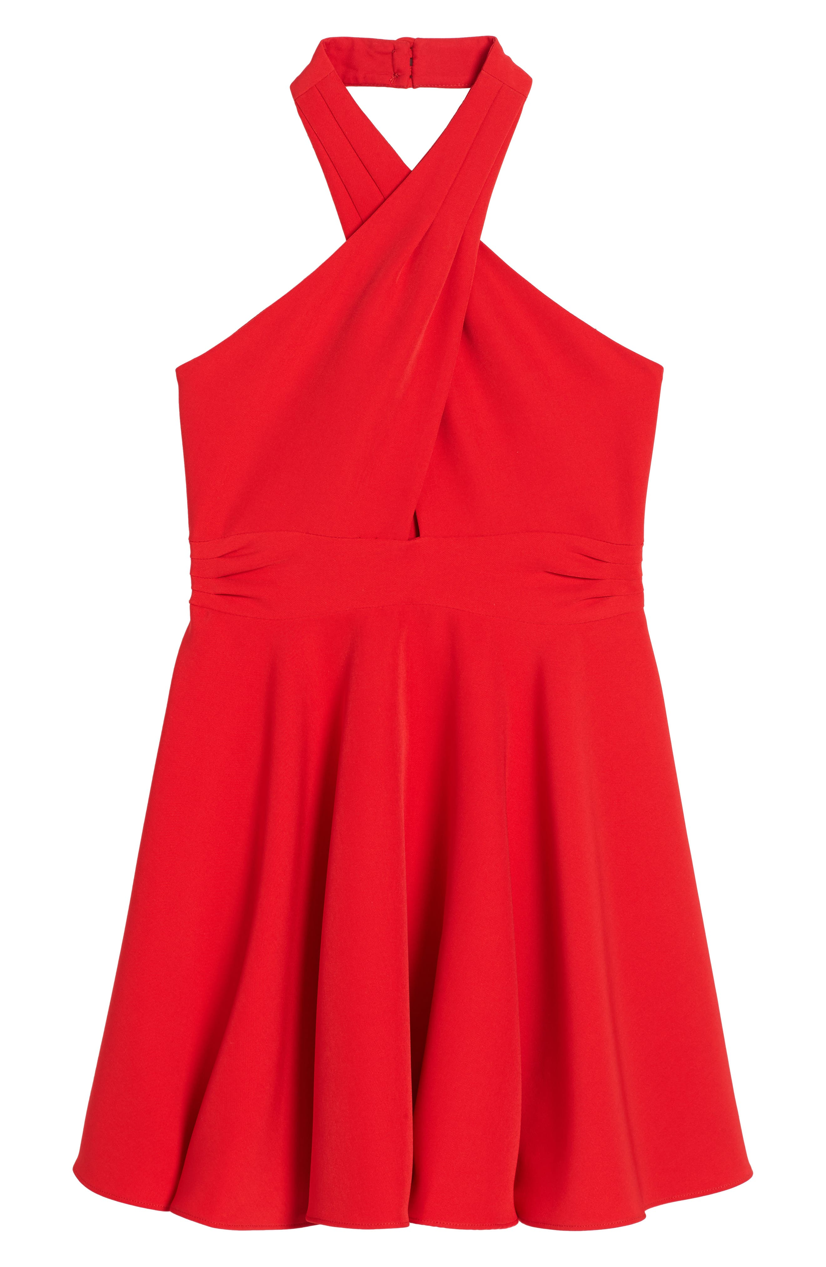 Milly Minis Sydney Halter Dress (Big Girls)