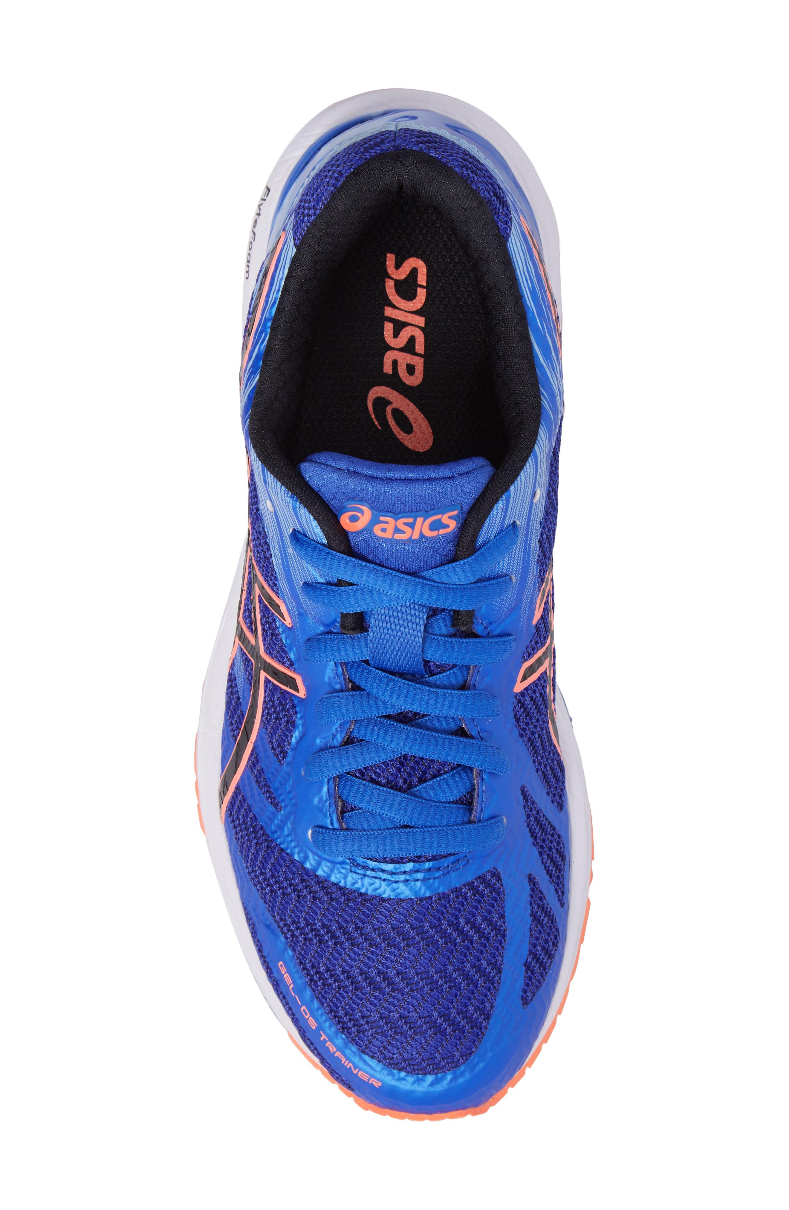GEL-DS Trainer 22 Running Shoe,                             Alternate thumbnail 5, color,                             Blue Purple/ Black/ Coral