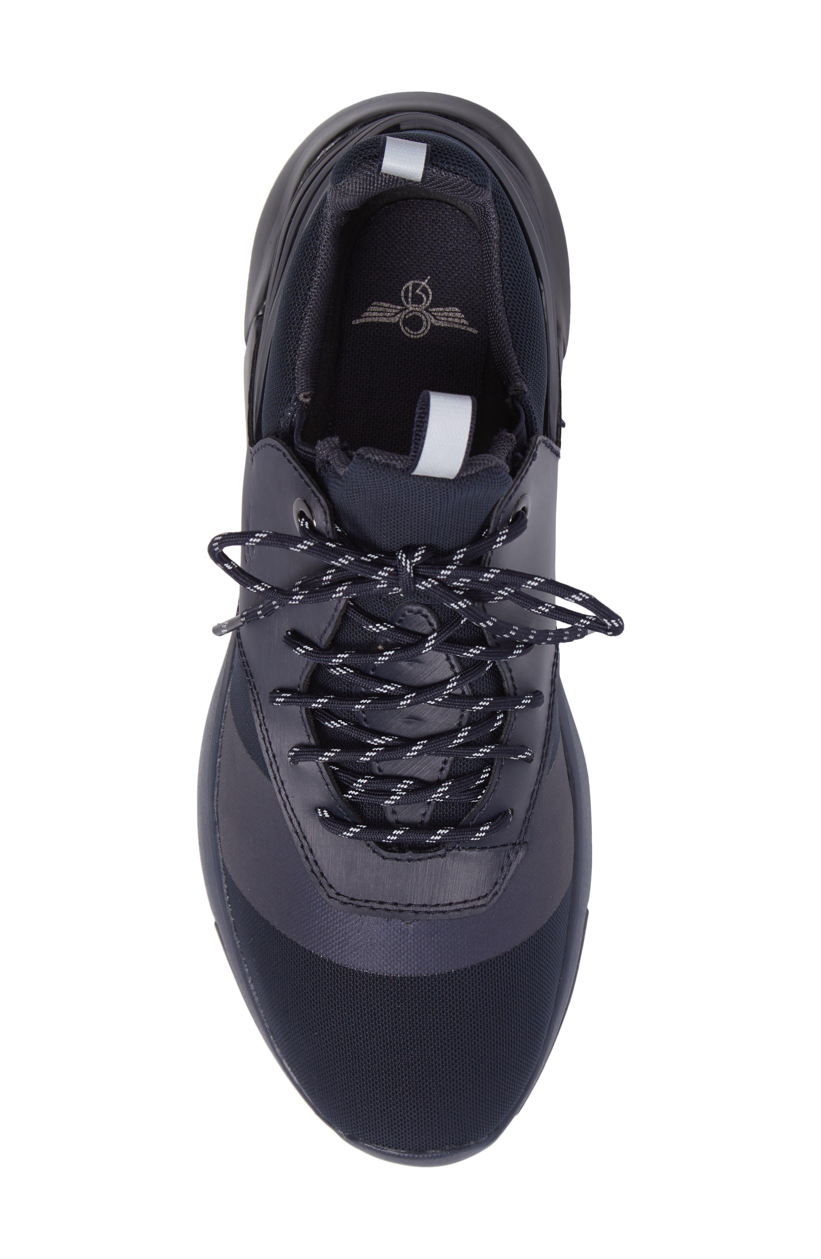 Motus Sneaker,                             Alternate thumbnail 5, color,                             Navy Reflective Leather