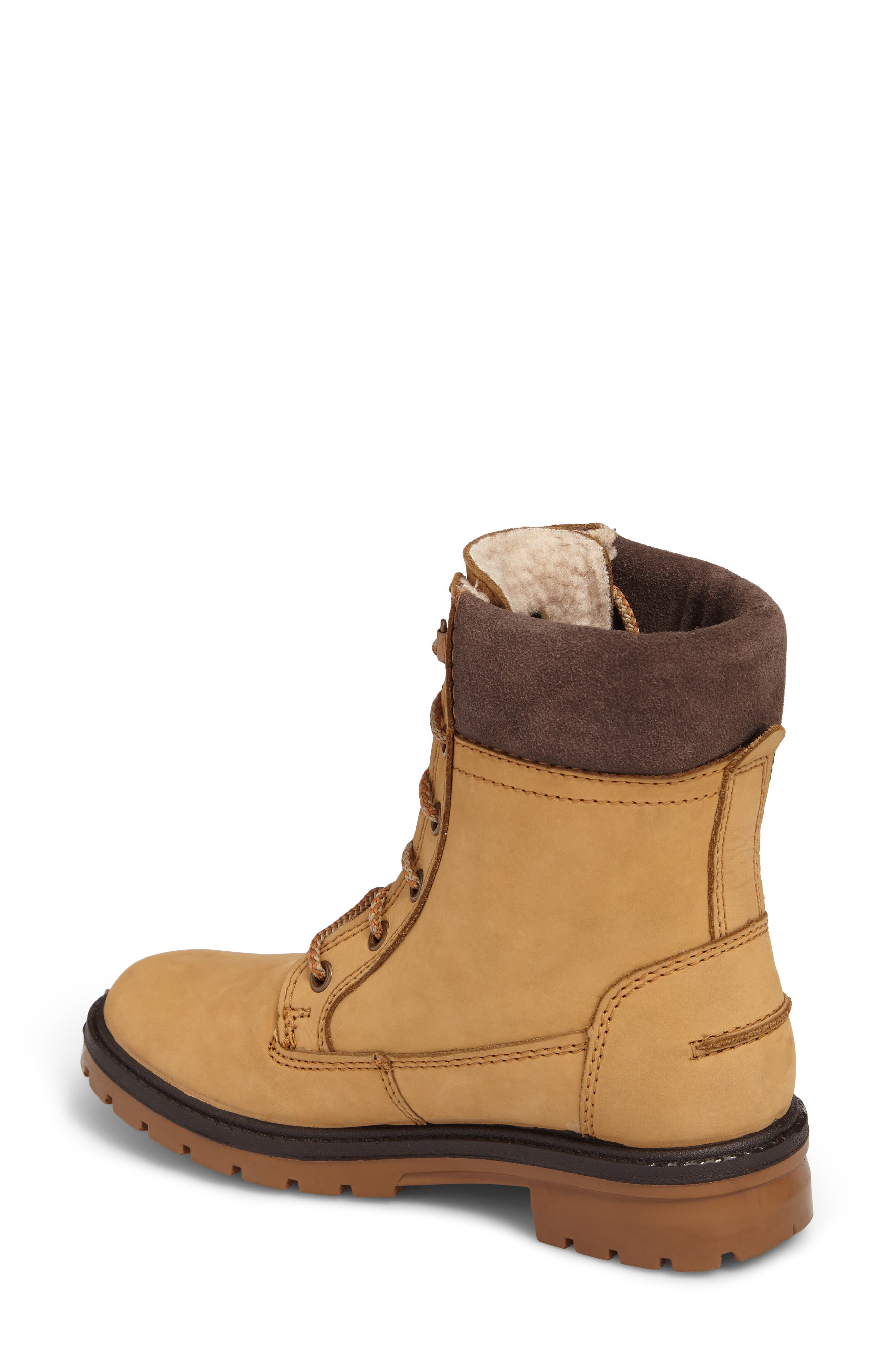 Rogue 5 Waterproof Boot,                             Alternate thumbnail 2, color,                             Honey Leather