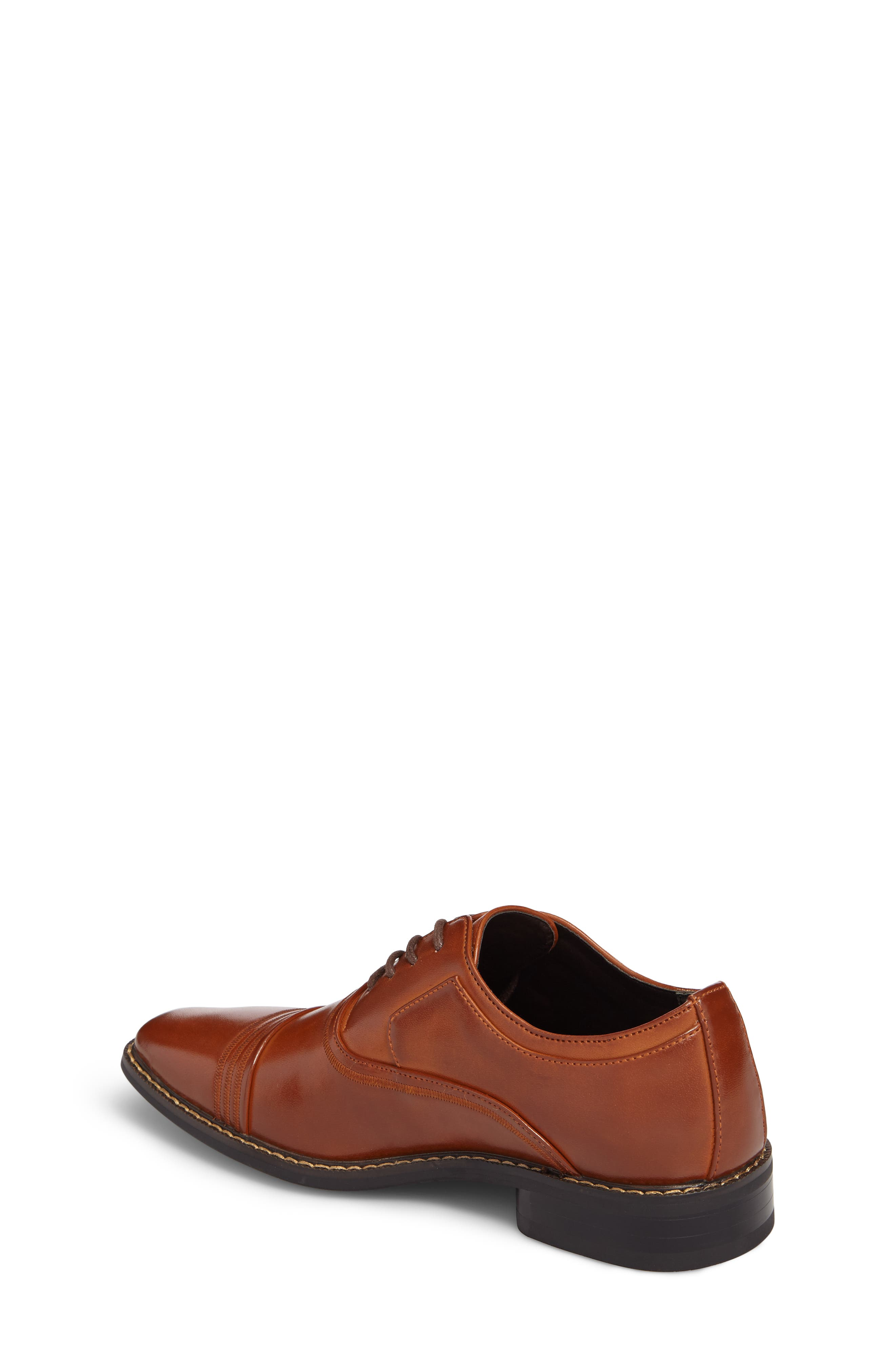 Alternate Image 2  - Stacy Adams Bingham Cap Toe Oxford (Toddler, Little Kid & Big Kid)