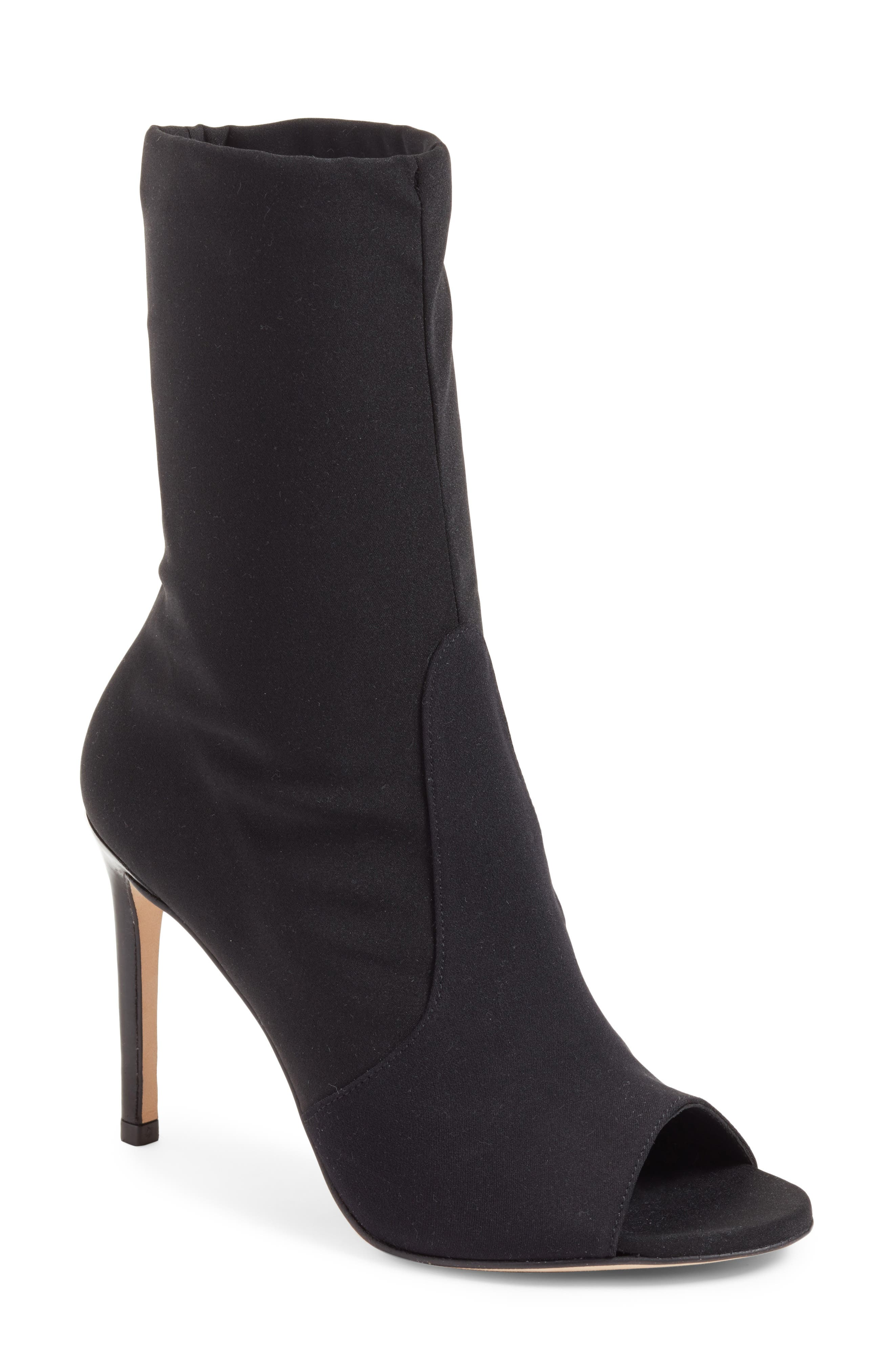 Alternate Image 1 Selected - Stuart Weitzman Hugger Peep Toe Bootie (Women)
