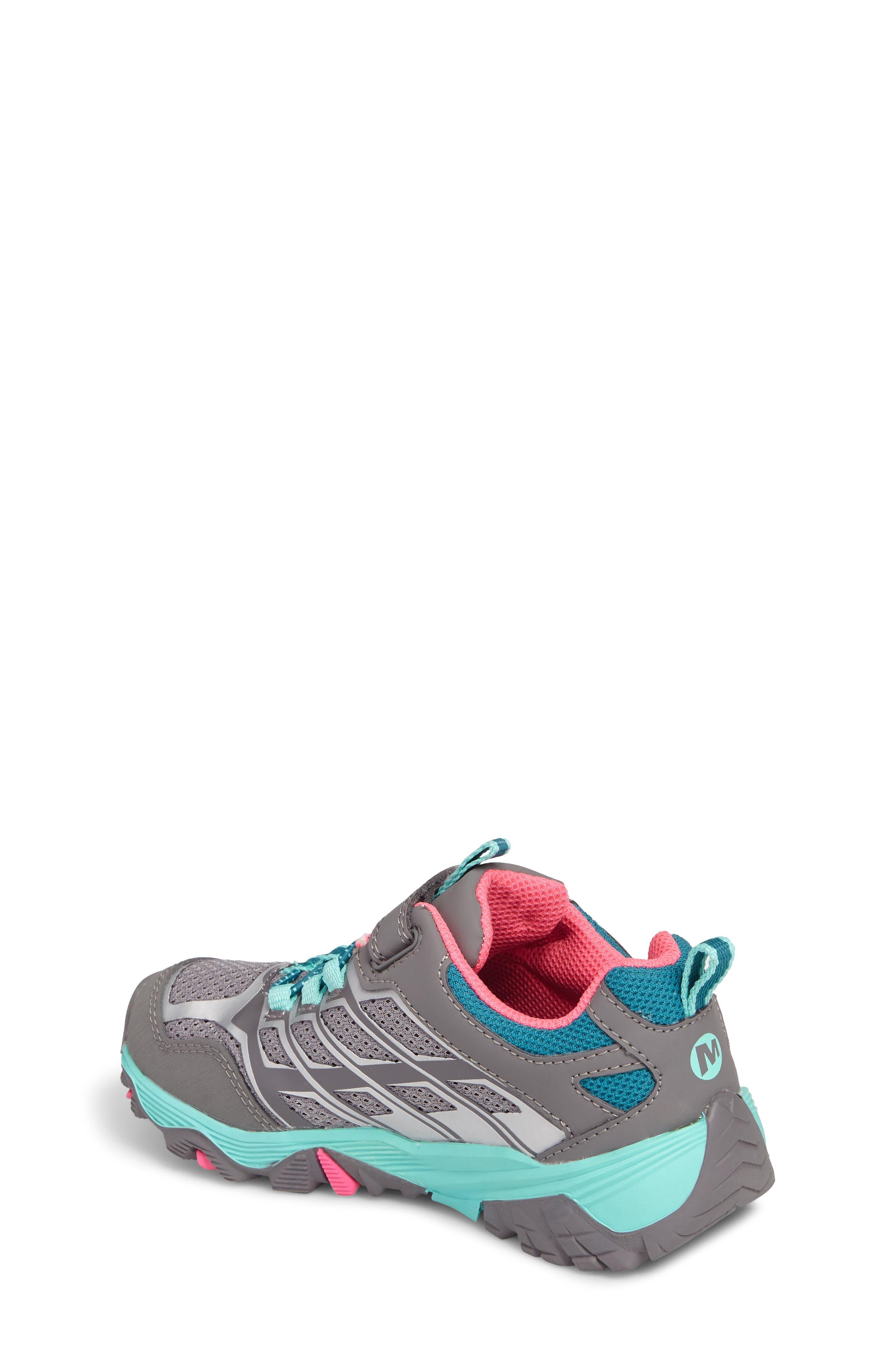 Moab FST Polar Low Waterproof Sneaker,                             Alternate thumbnail 2, color,                             Grey/ Multi
