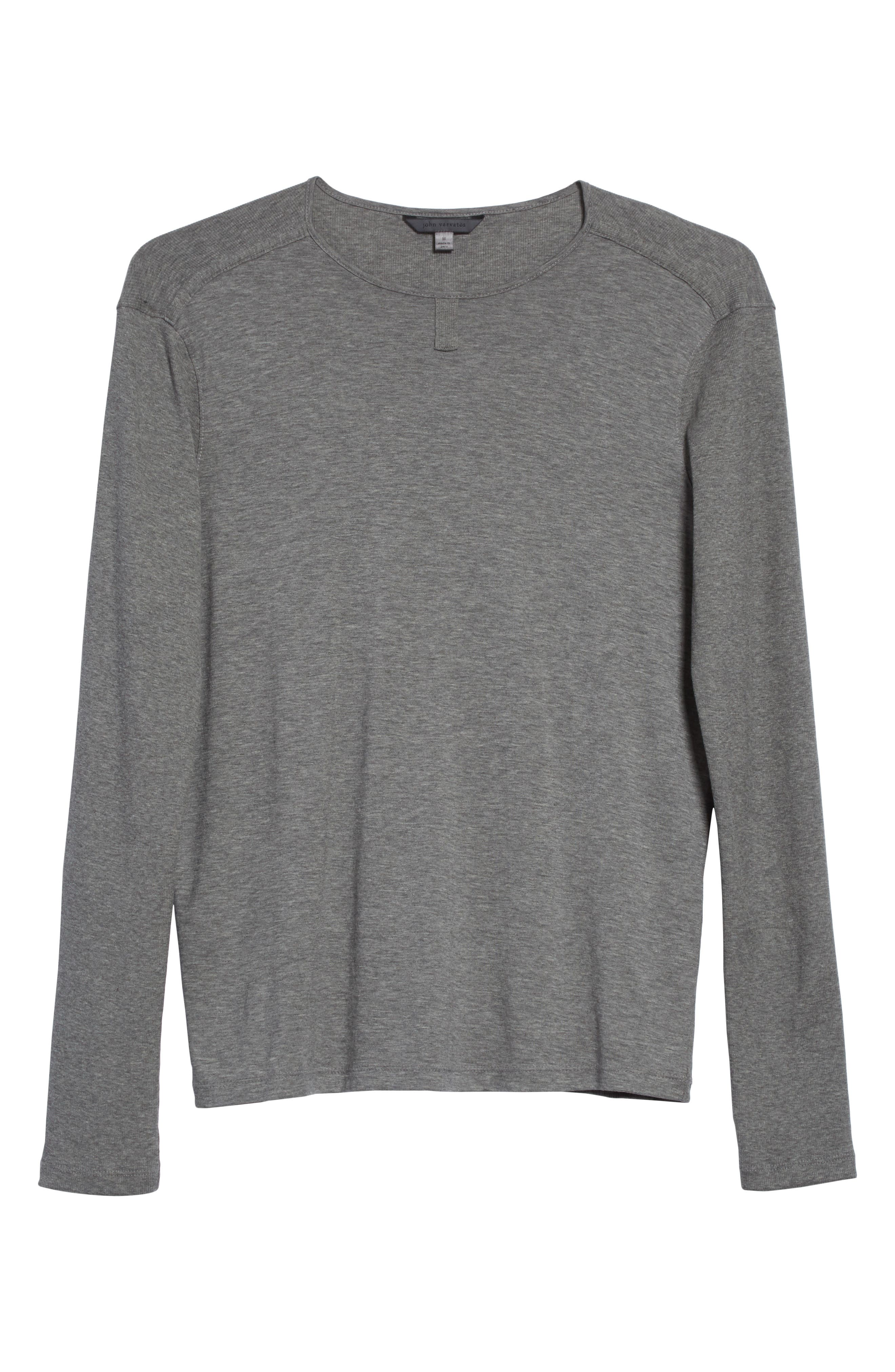 Alternate Image 6  - John Varvatos Collection Tab Crewneck T-Shirt