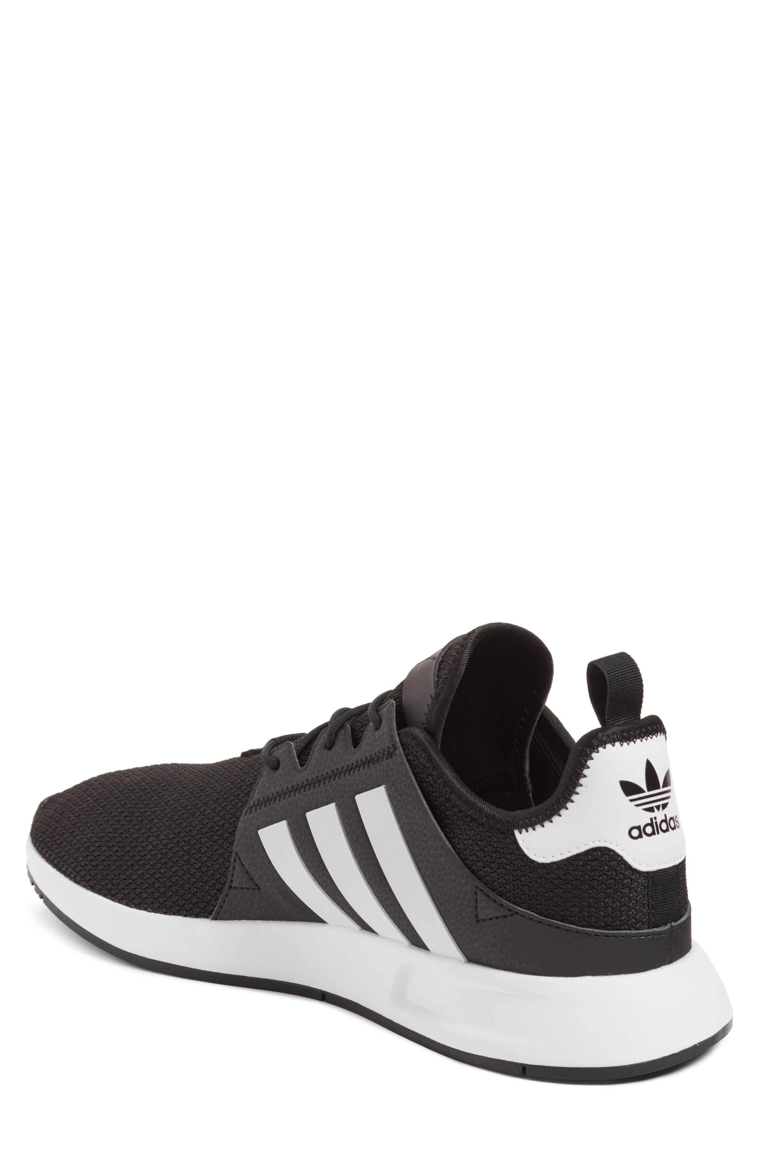 X_PLR Sneaker,                             Alternate thumbnail 2, color,                             Black/ White/ Black