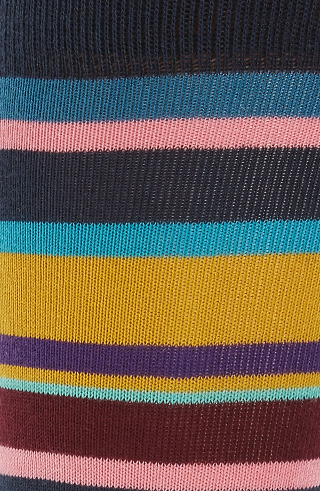 Stripe Socks,                             Alternate thumbnail 2, color,                             Blue