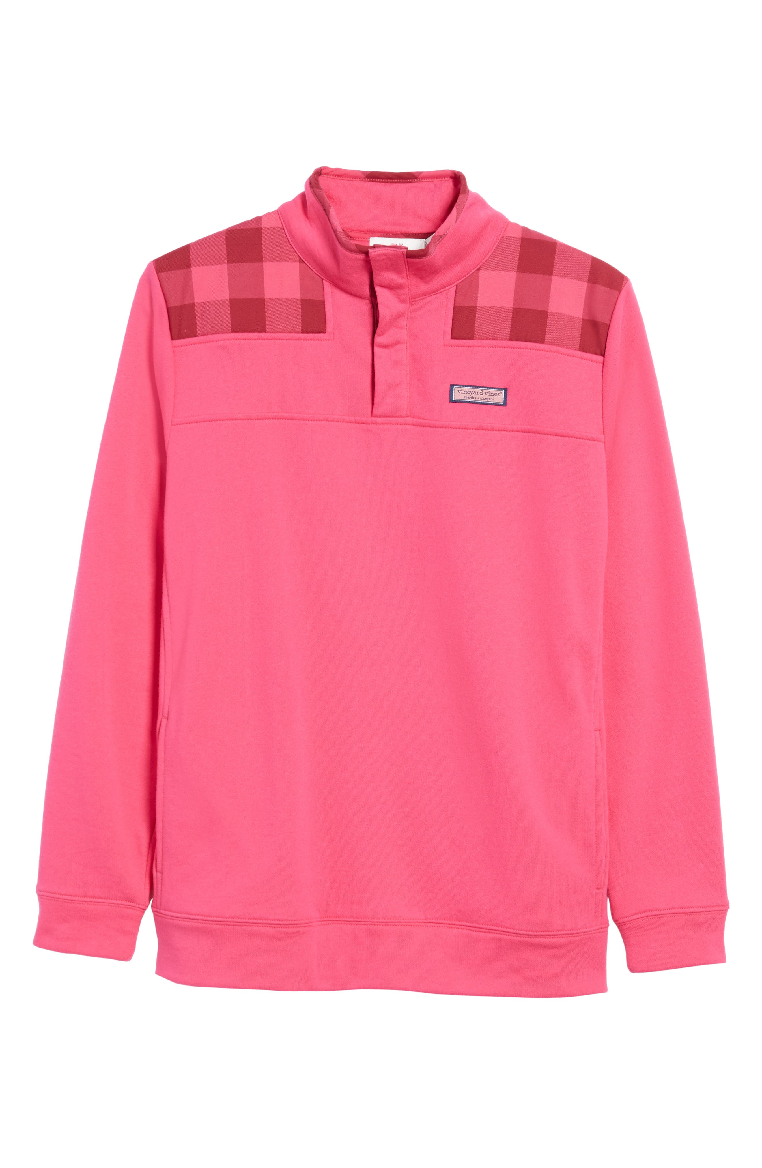 Alternate Image 6  - vineyard vines Buffalo Check Classic Shep Pullover