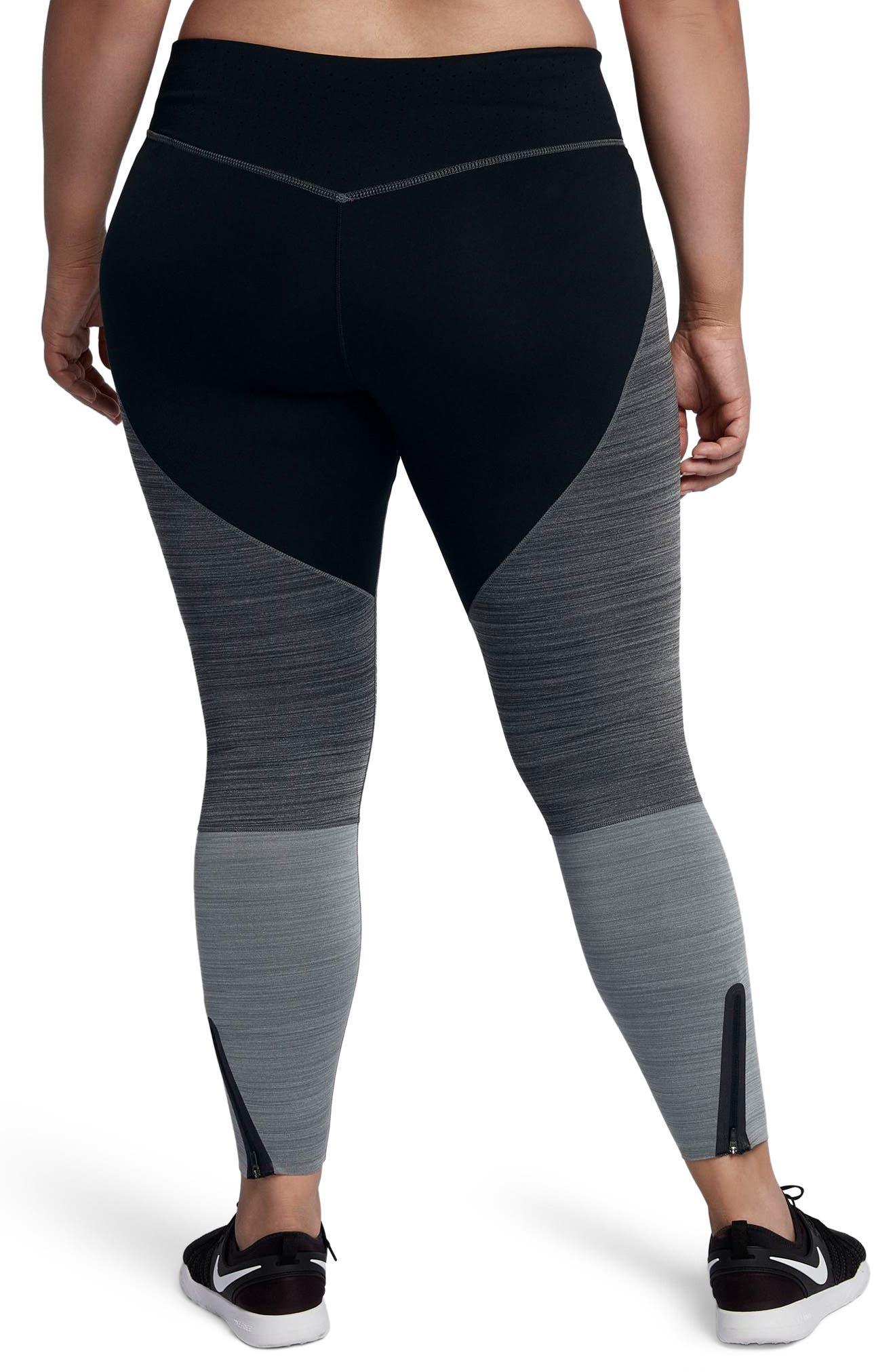 Alternate Image 2  - Nike Legendary Training Tights (Plus Size)