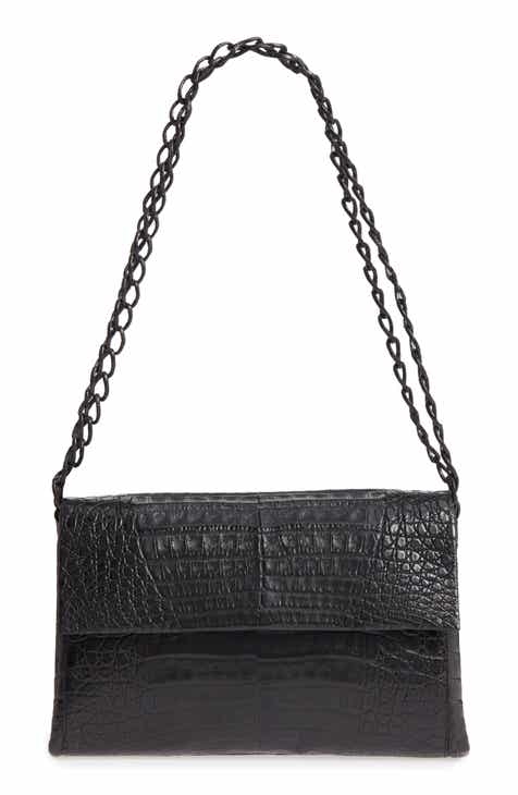 d5c5b319f652f Nancy Gonzalez Genuine Crocodile Shoulder Bag