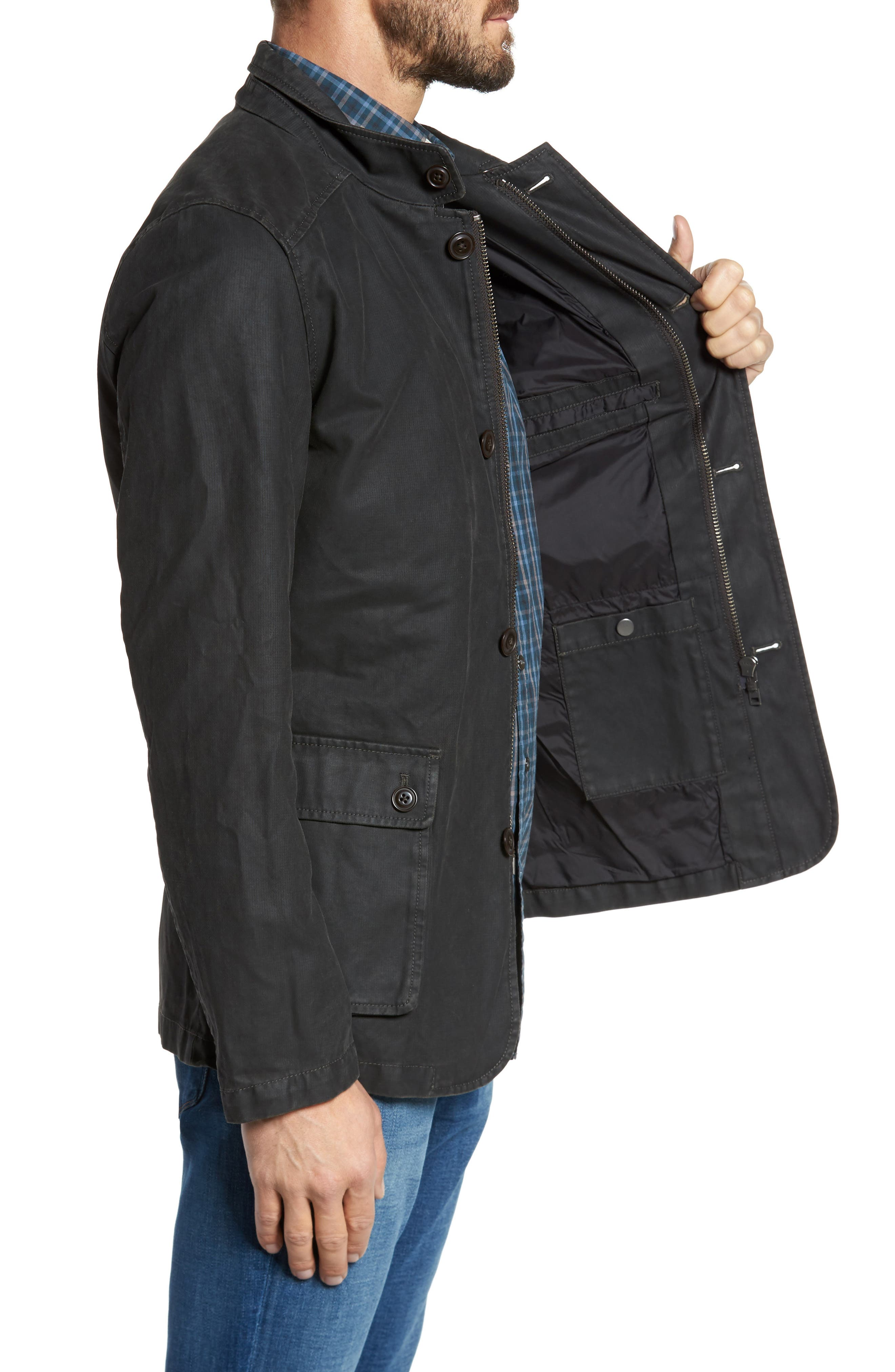 Blackmount Water-Resistant Jacket,                             Alternate thumbnail 3, color,                             Bracken