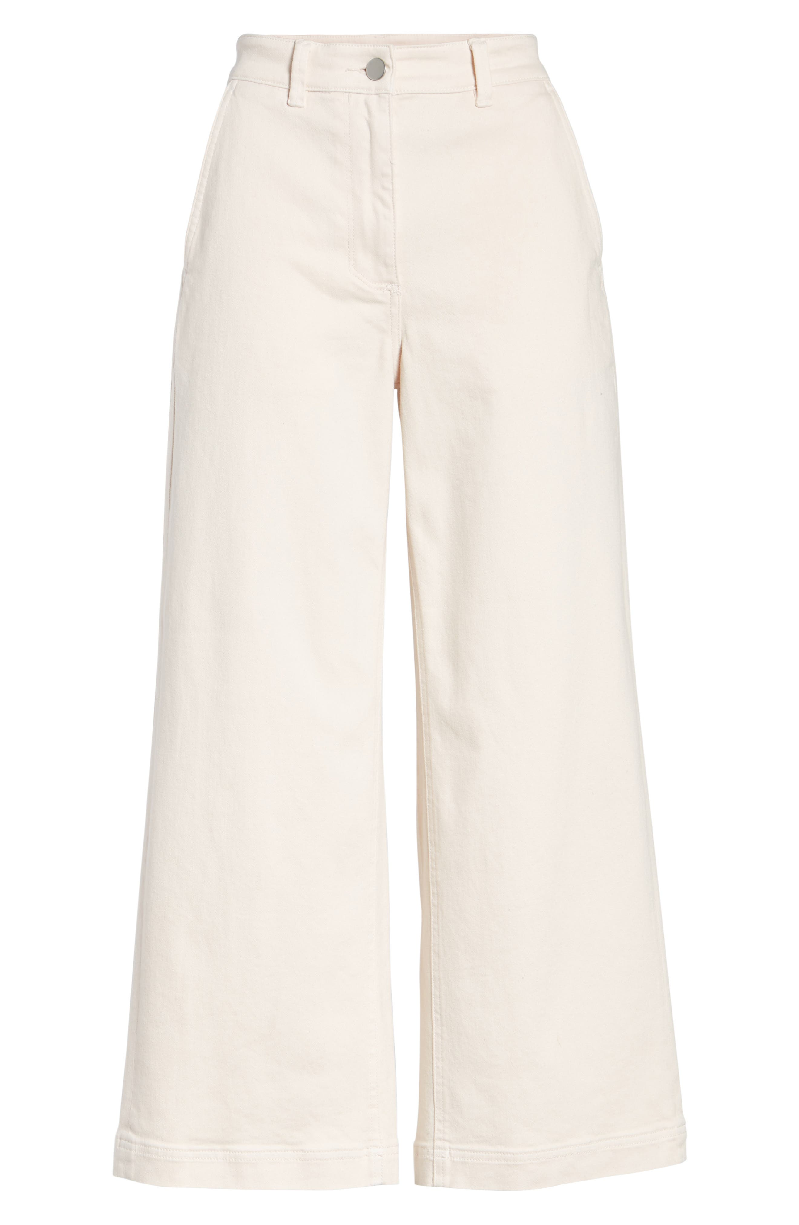 Alternate Image 6  - Everlane The Wide Leg Crop Pants